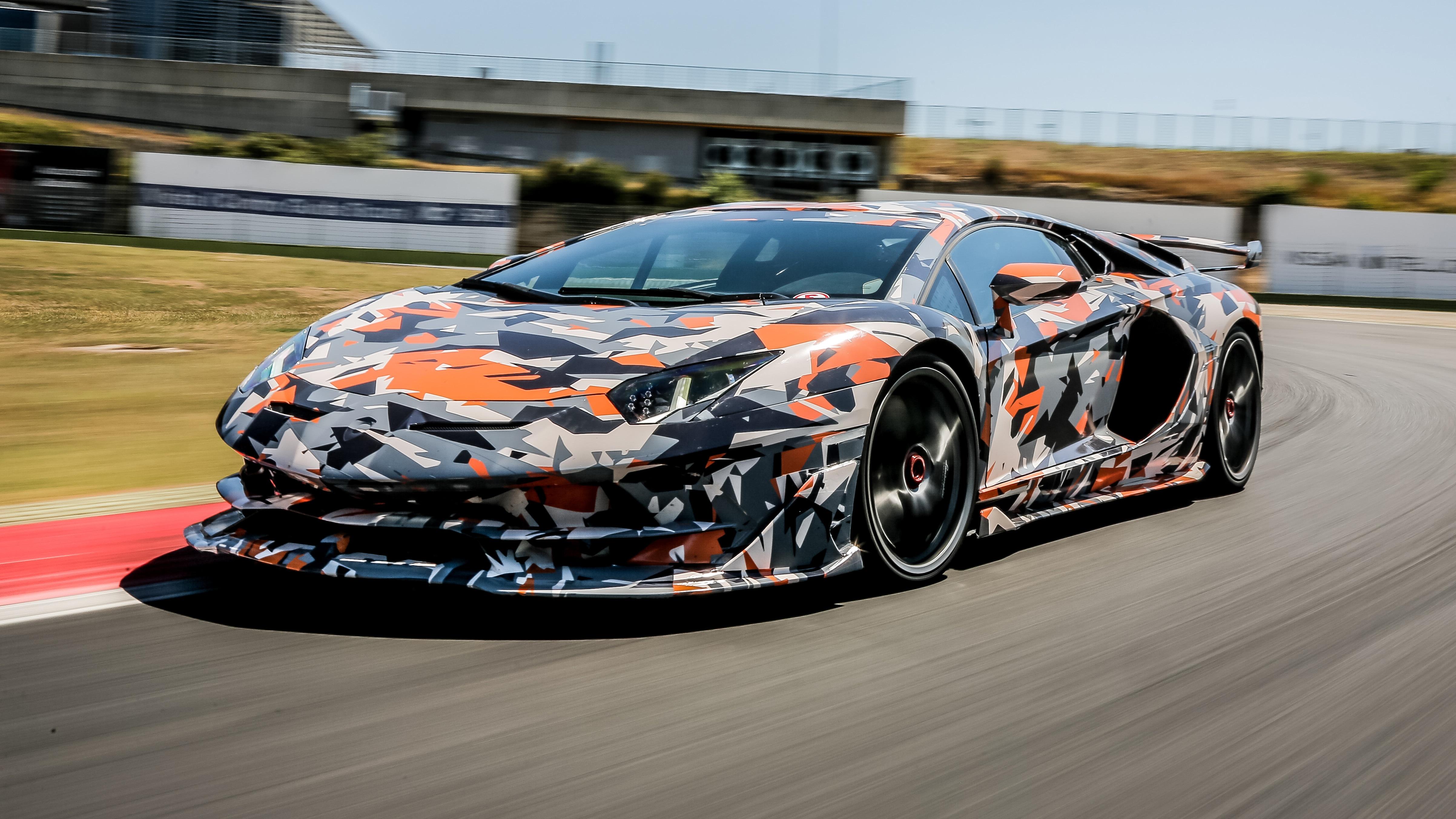 Lamborghini Aventador SVJ 2018, HD Cars, 4k Wallpapers ...