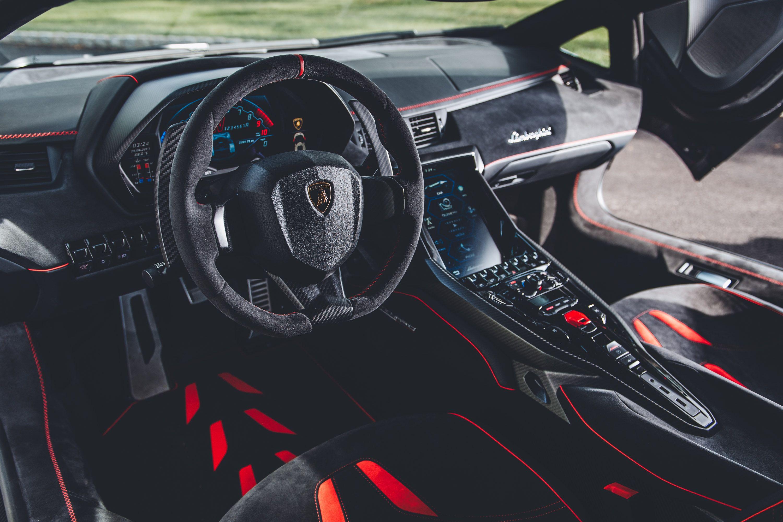 Lamborghini centenario coupe interior hd cars 4k - Lamborghini aventador interior wallpaper ...