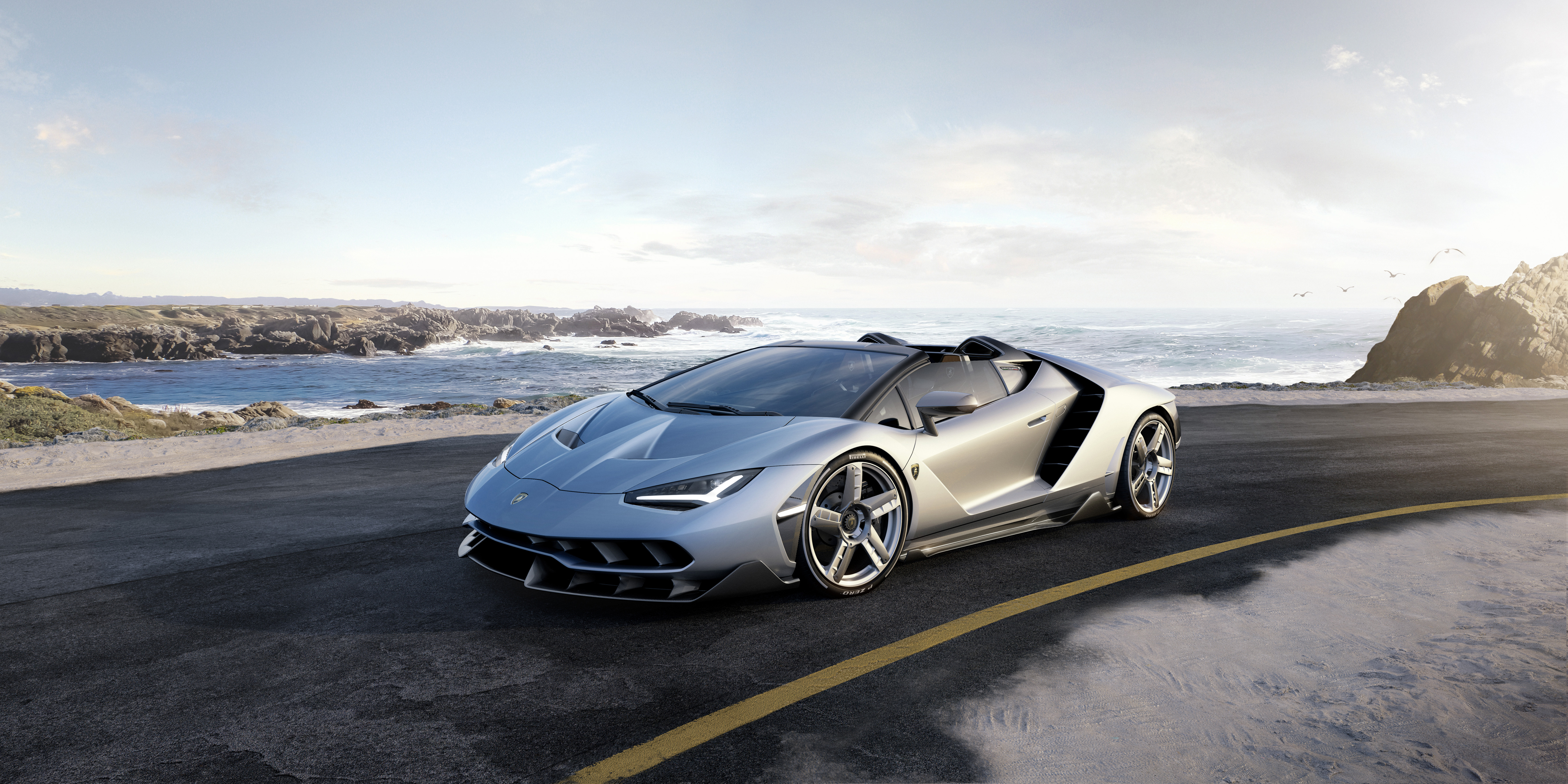 2017 Lamborghini Centenario 4k Wallpaper