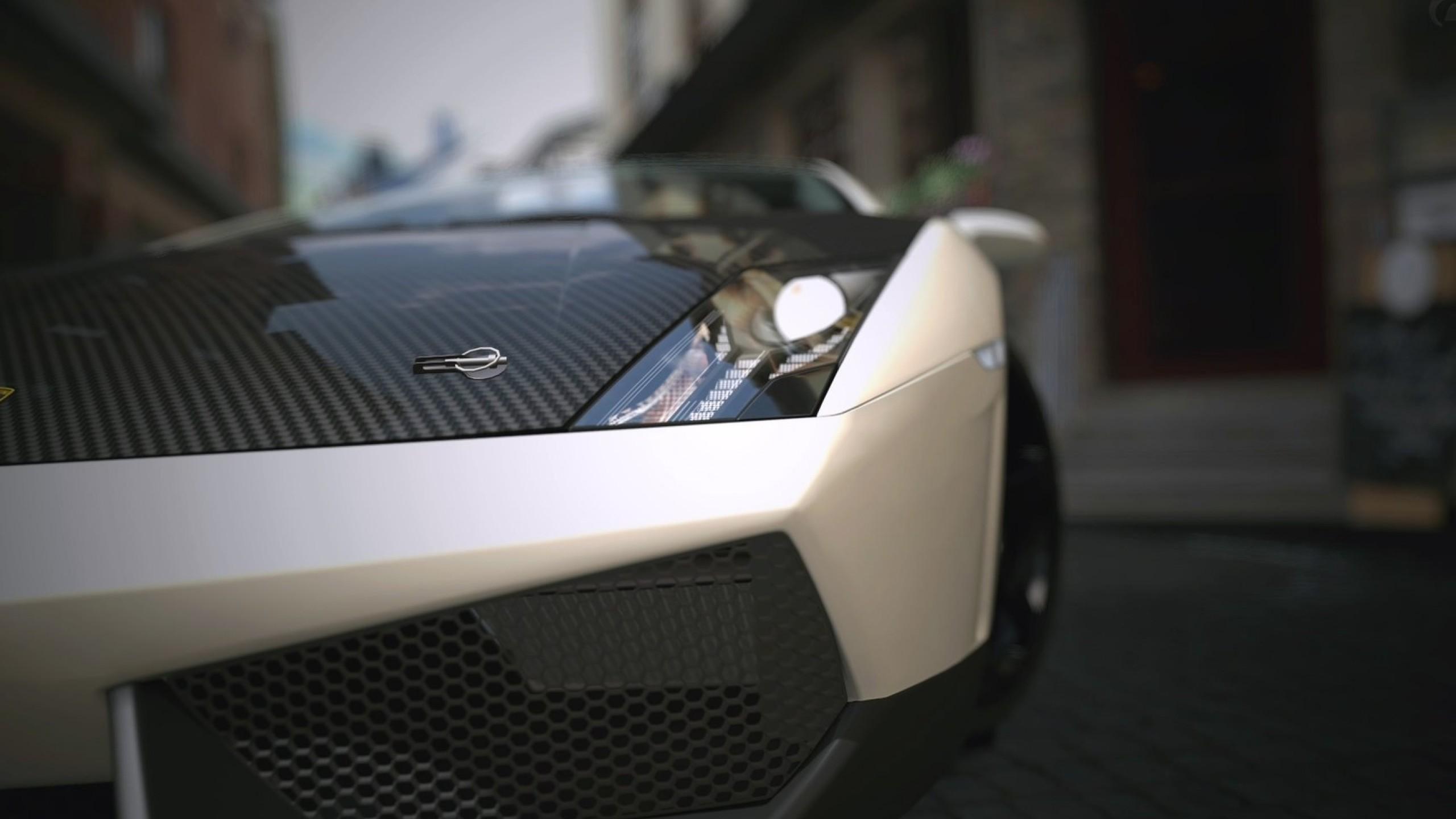 Fantastic Wallpaper Logo Lamborghini - lamborghini-front-view-matte-wide  2018_511006.jpg