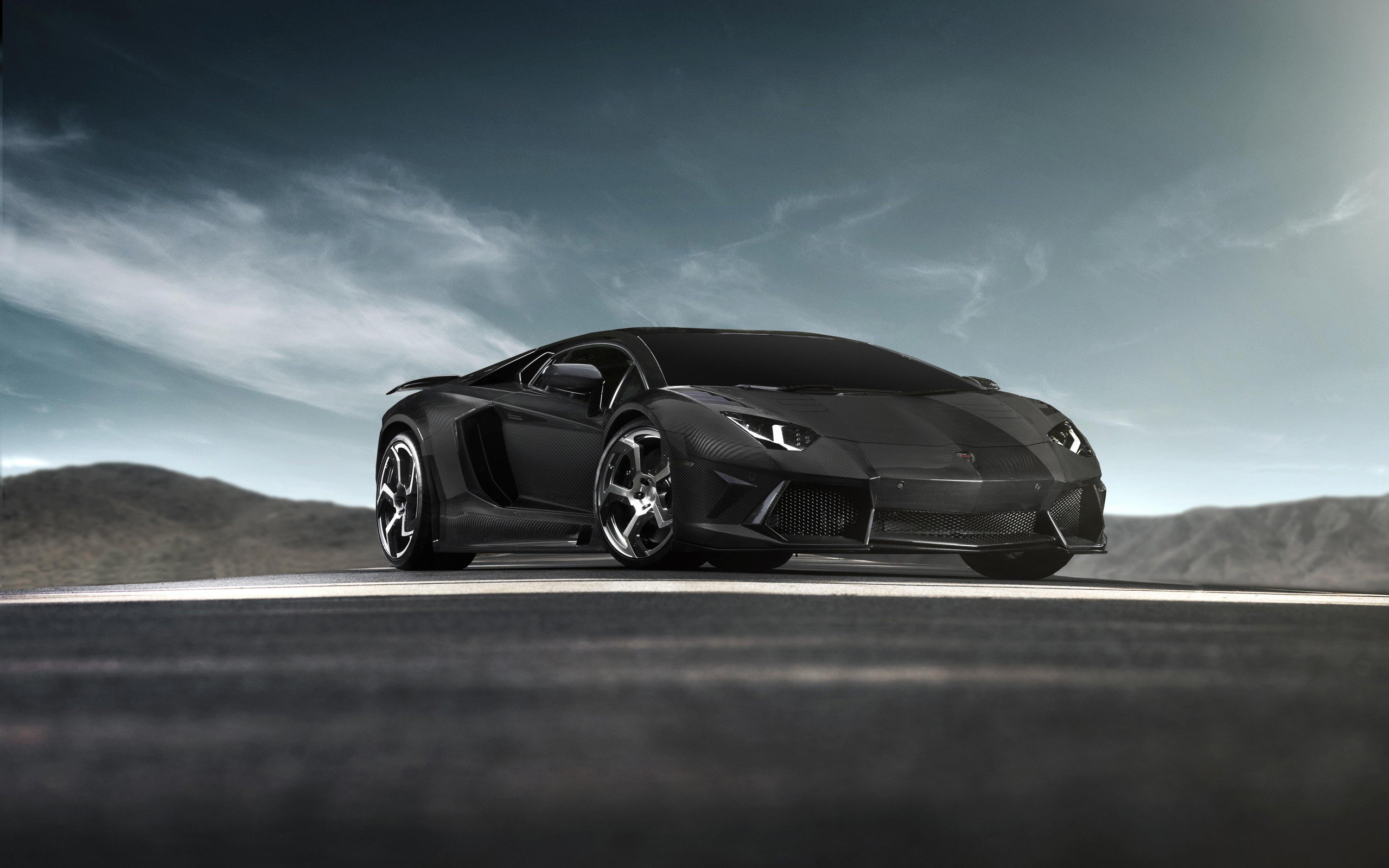 2048x1152 Lamborghini Full Black 2048x1152 Resolution HD
