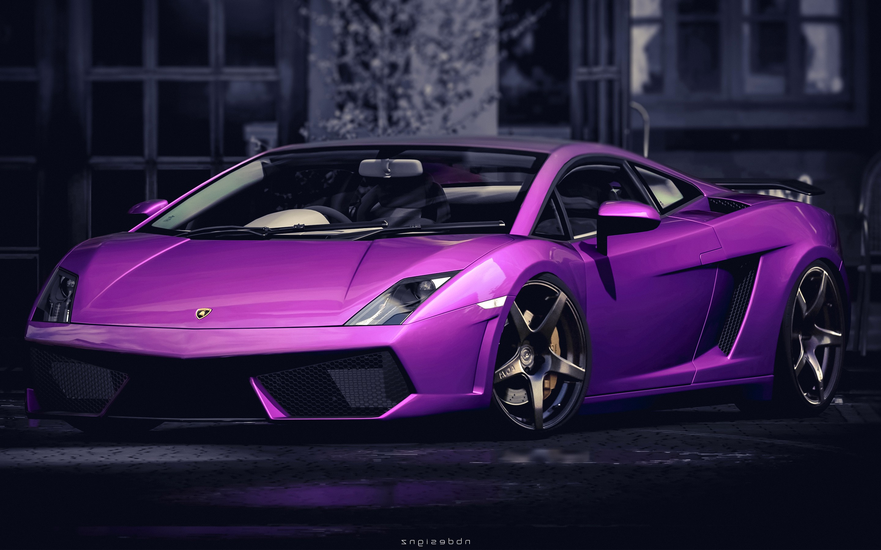 750x1334 Lamborghini Gallardo Purple Iphone 6 Iphone 6s Iphone 7