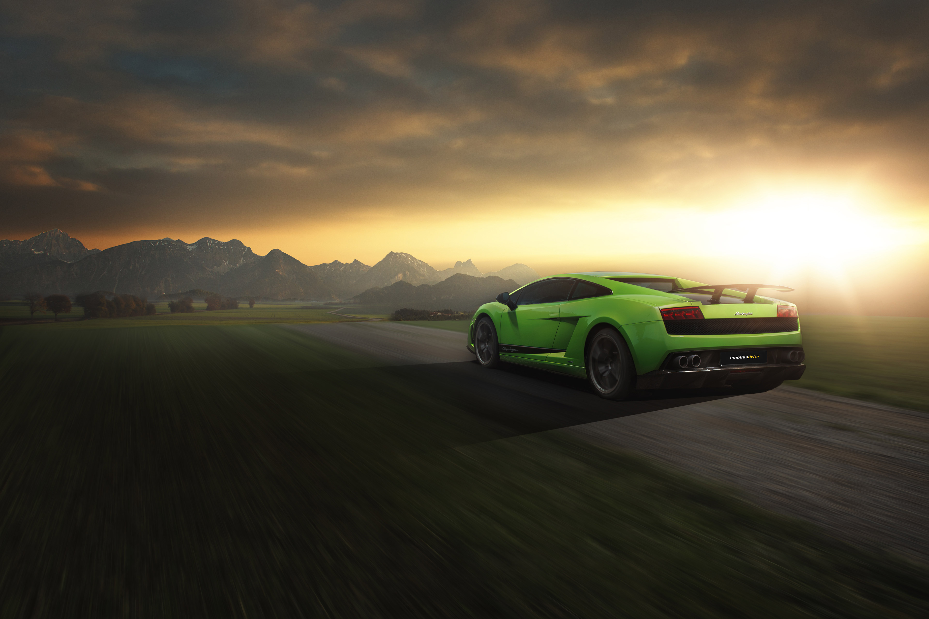 Delicieux Lamborghini Gallardo Superleggera 4k