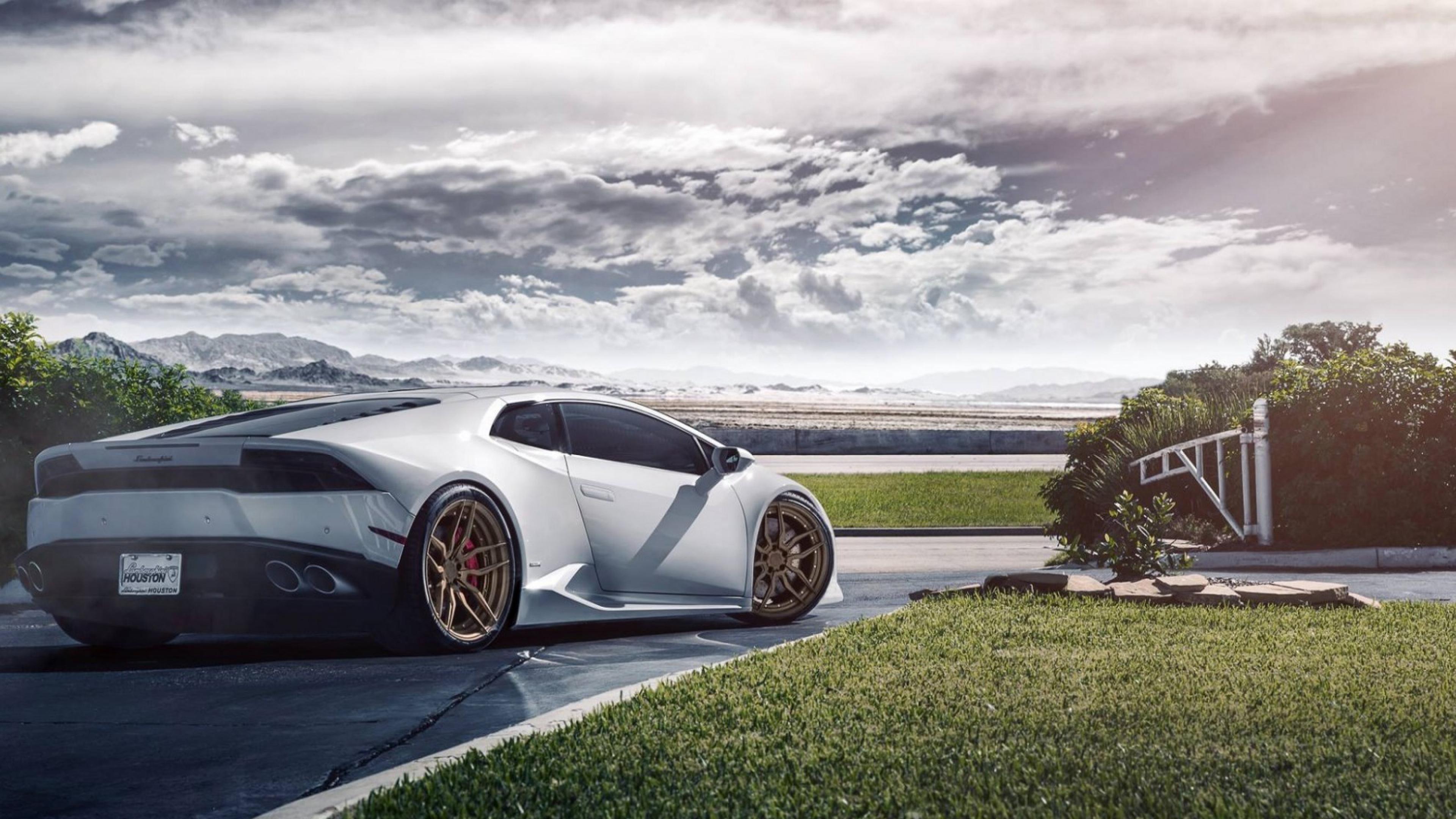 1080x1920 Lamborghini Huaracan White Iphone 7 6s 6 Plus Pixel Xl
