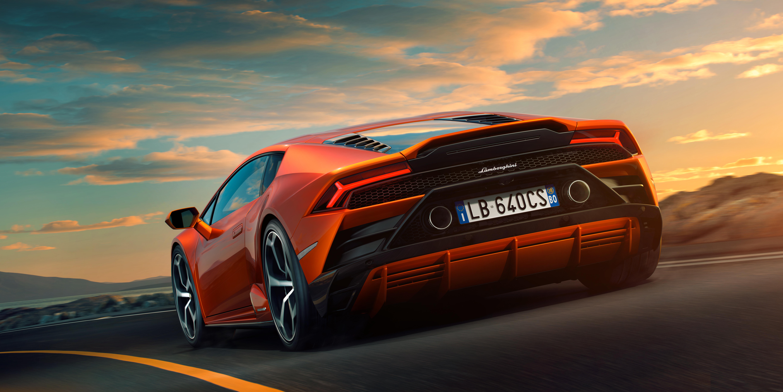 Lamborghini Huracan EVO 10k Rear, HD Cars, 4k Wallpapers ...