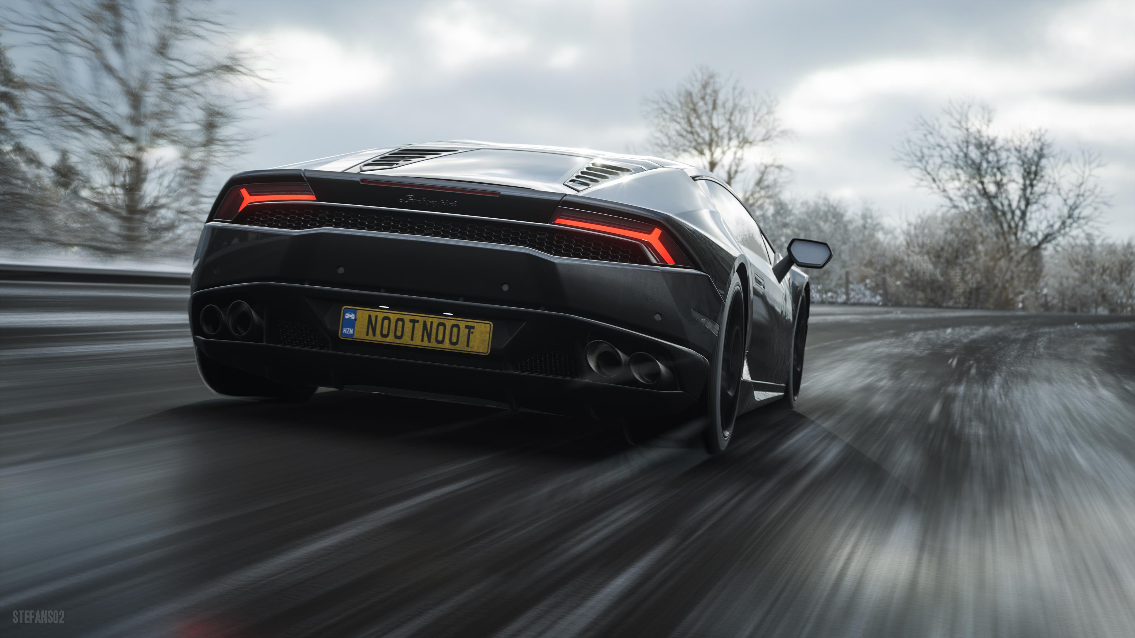 Forza Horizon 4 Wallpaper: Lamborghini Huracan LP 610 Forza Horizon 4, HD Games, 4k