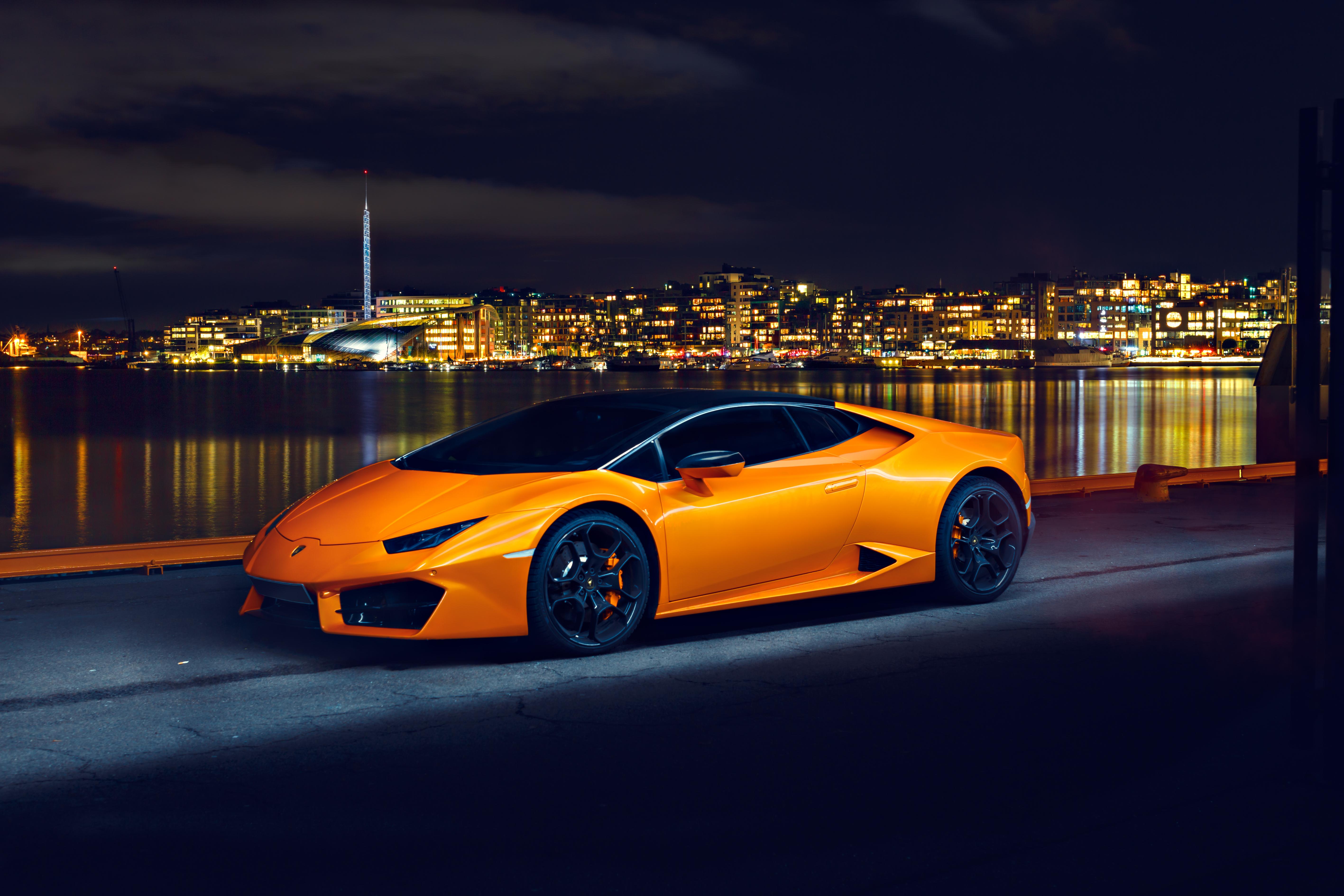 Lamborghini Huracan LP580 Night Photoshoot, HD Cars, 4k ...