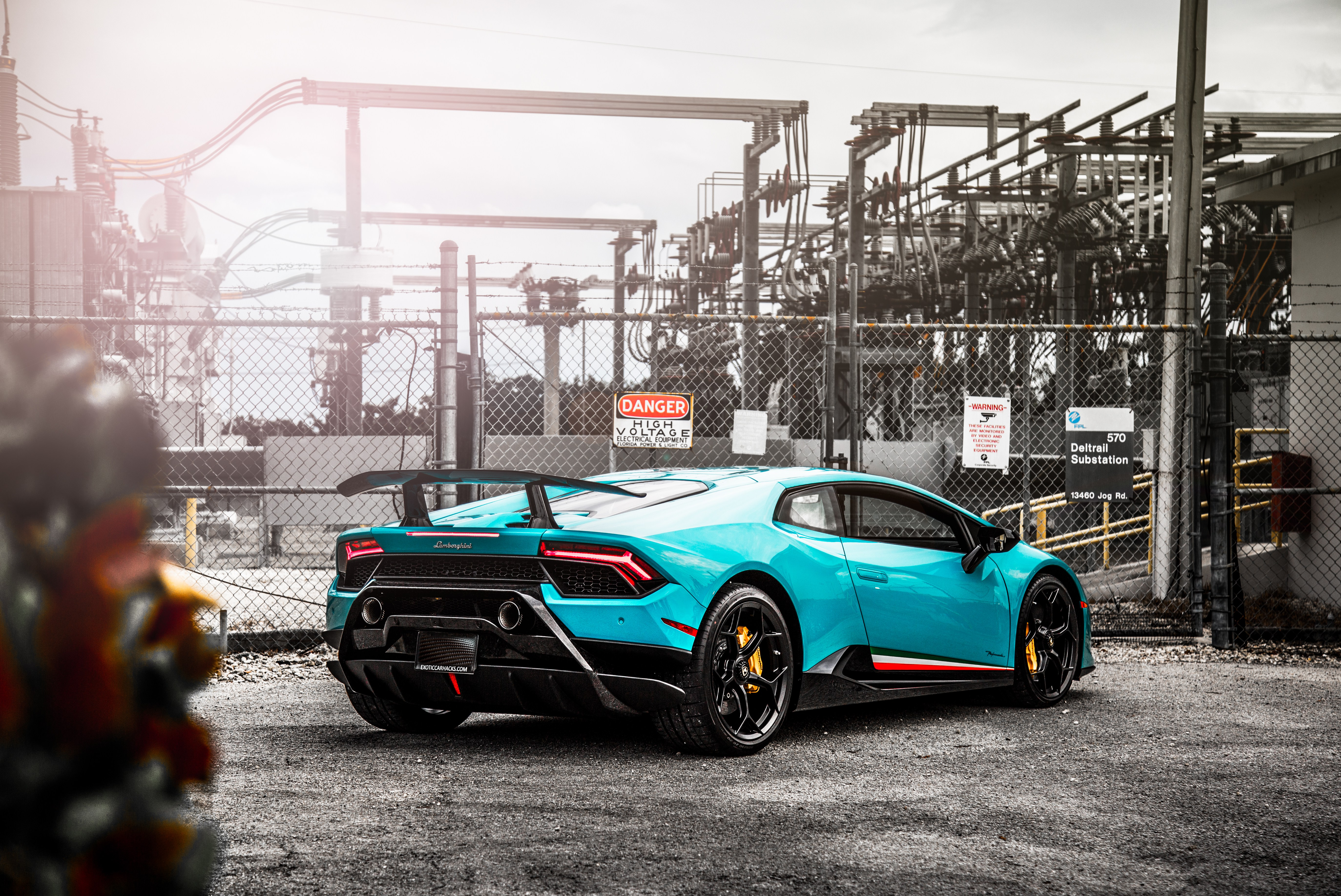 Lamborghini Huracan Performante Rear 5k, HD Cars, 4k