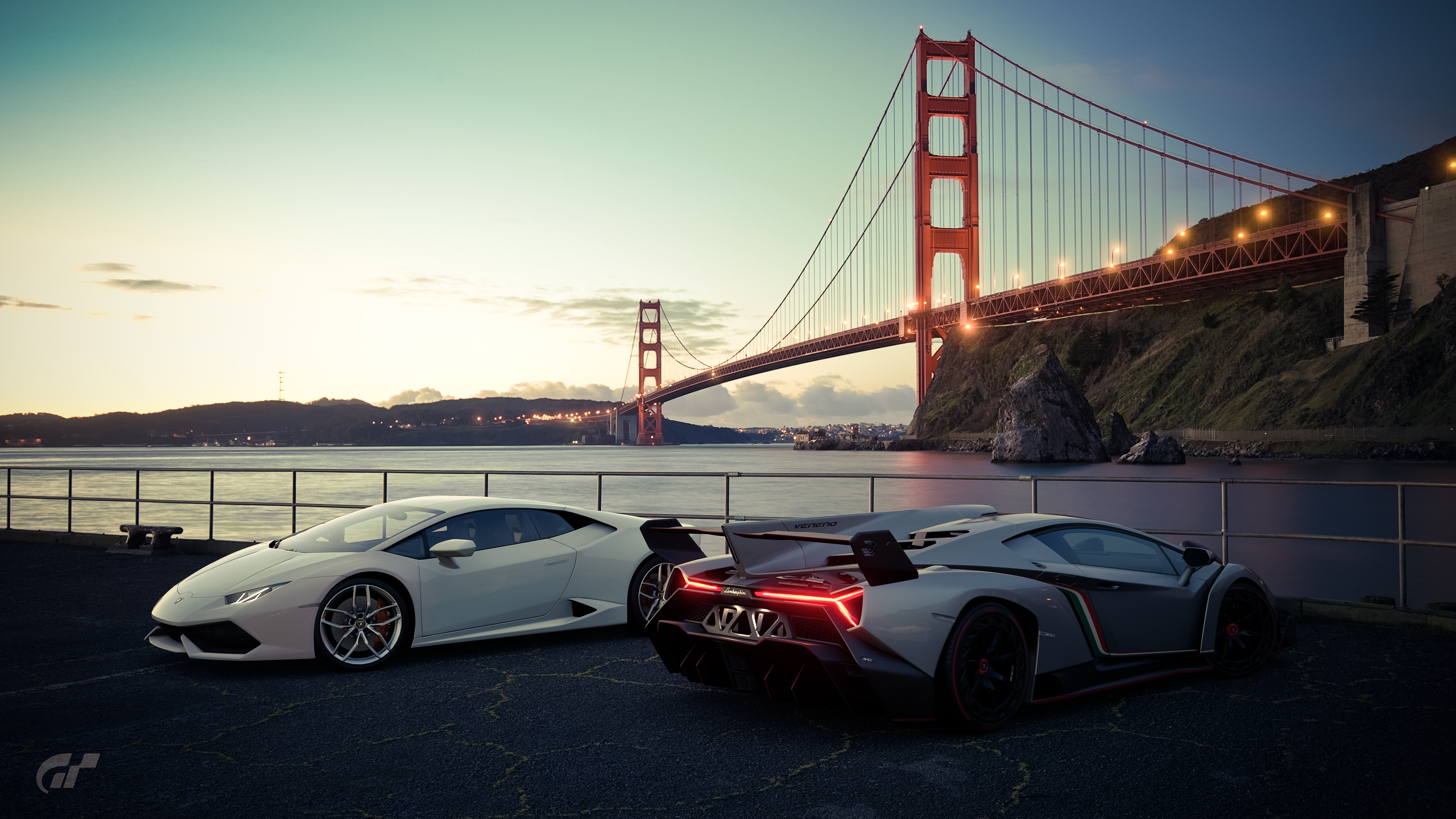 1366x768 Lamborghini Huracan Veneno Gran Turismo 1366x768