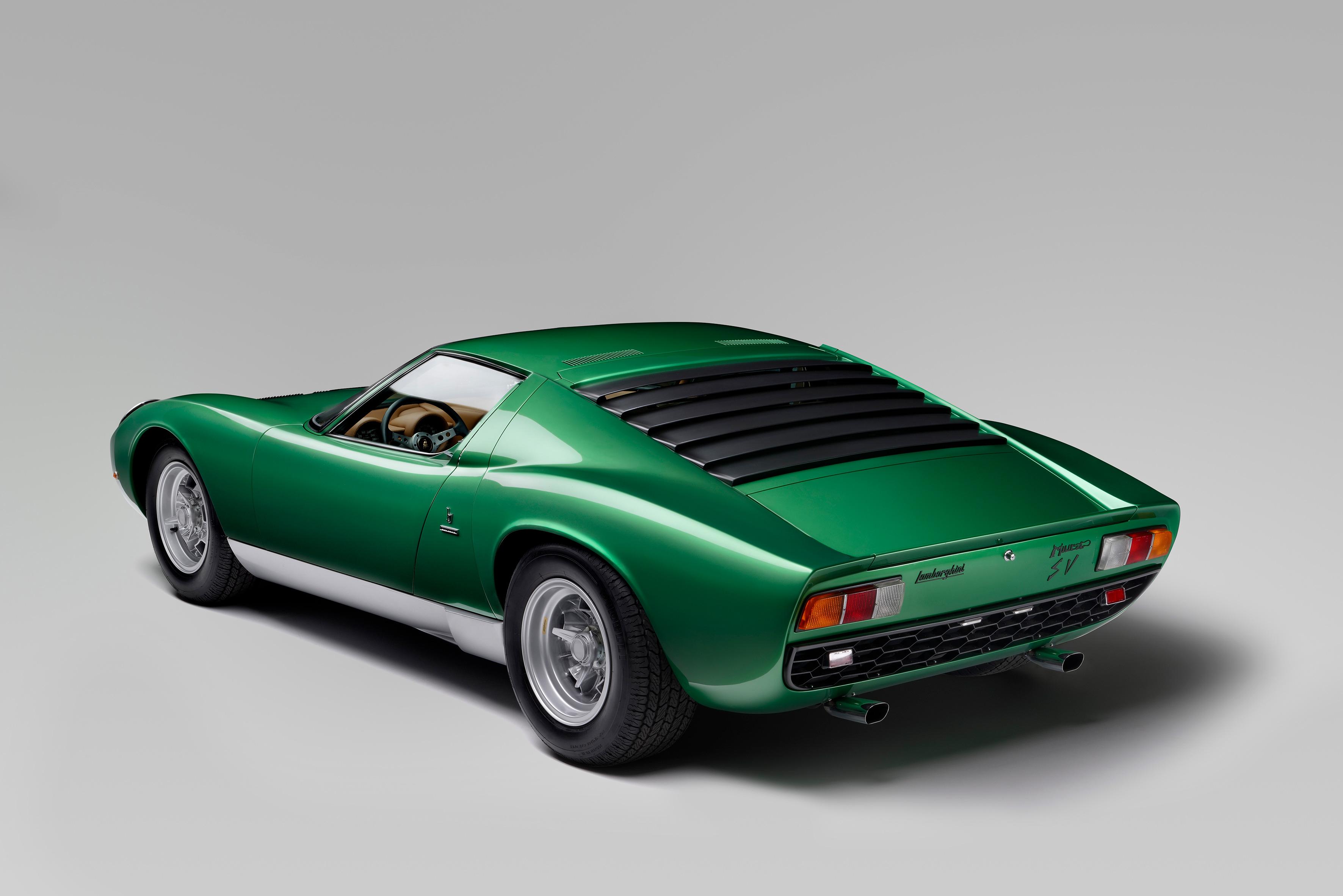 Lamborghini Miura P400 Sv 1971 Hd Cars 4k Wallpapers Images