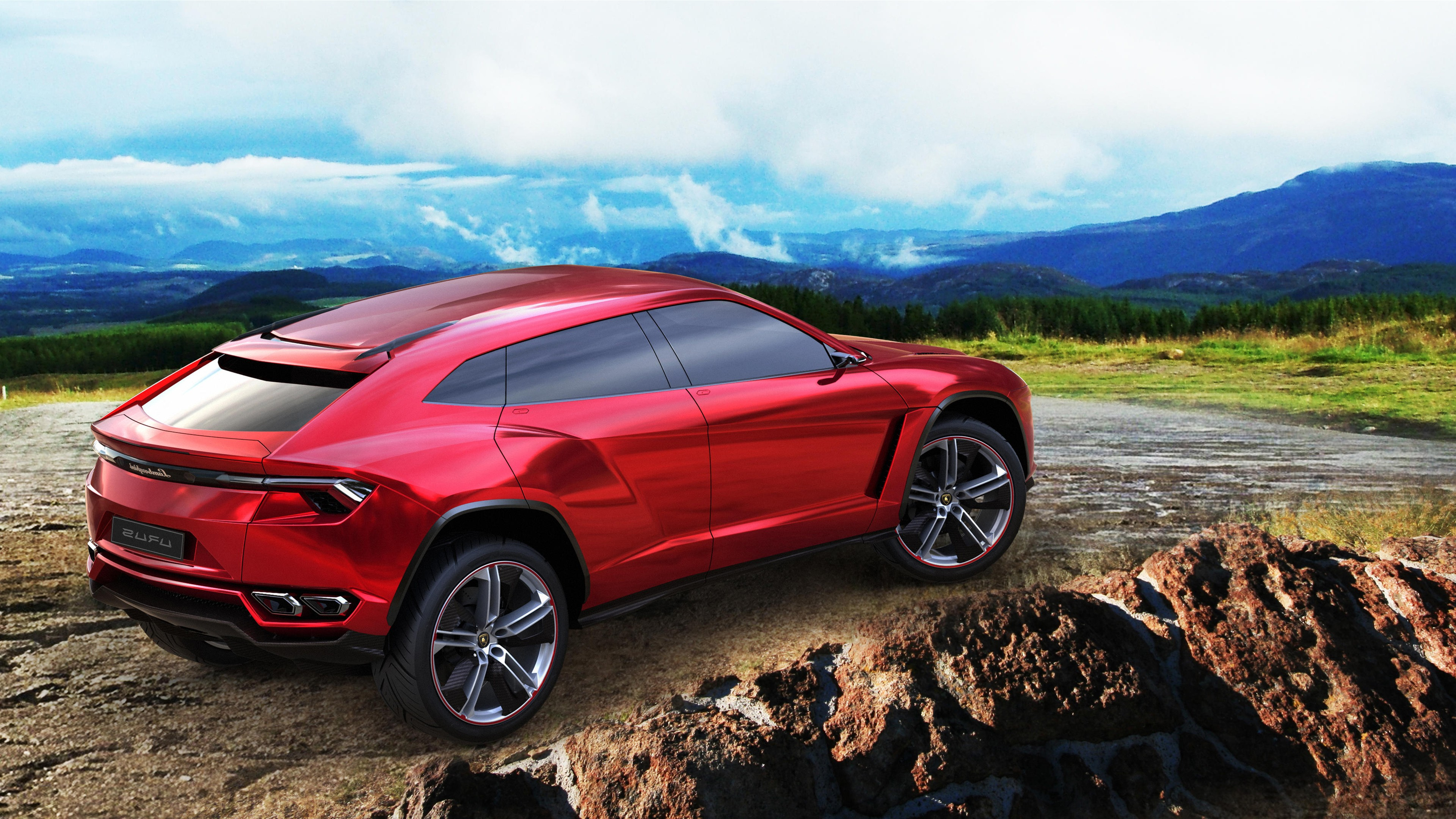 Lamborghini Urus Concept, HD Cars, 4k Wallpapers, Images
