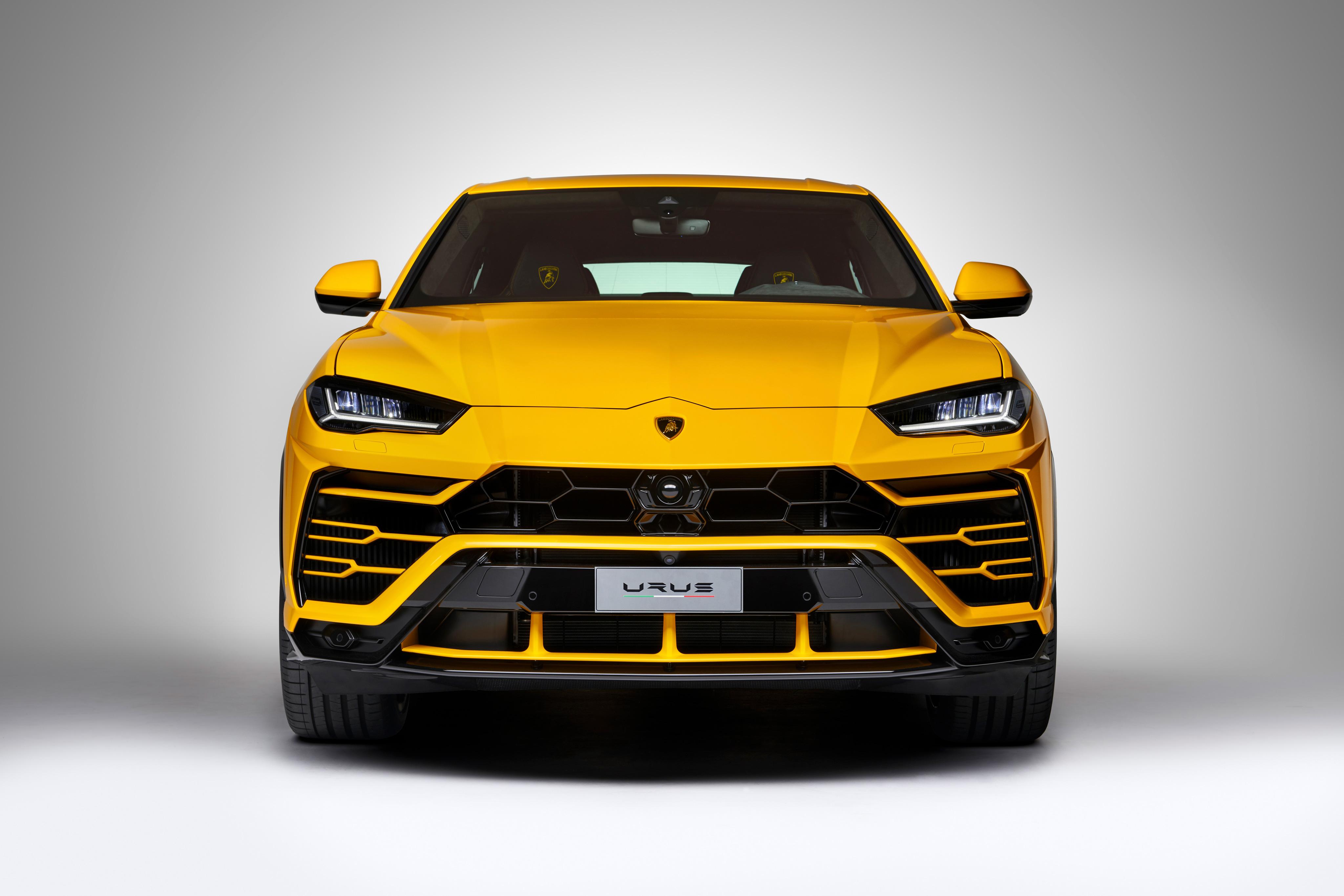 Lamborghini Urus Front View Hd Cars 4k Wallpapers Images