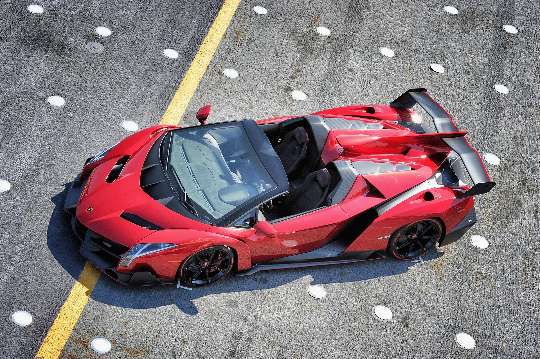 Elegant Lamborghini Veneno Roadster HD Idea