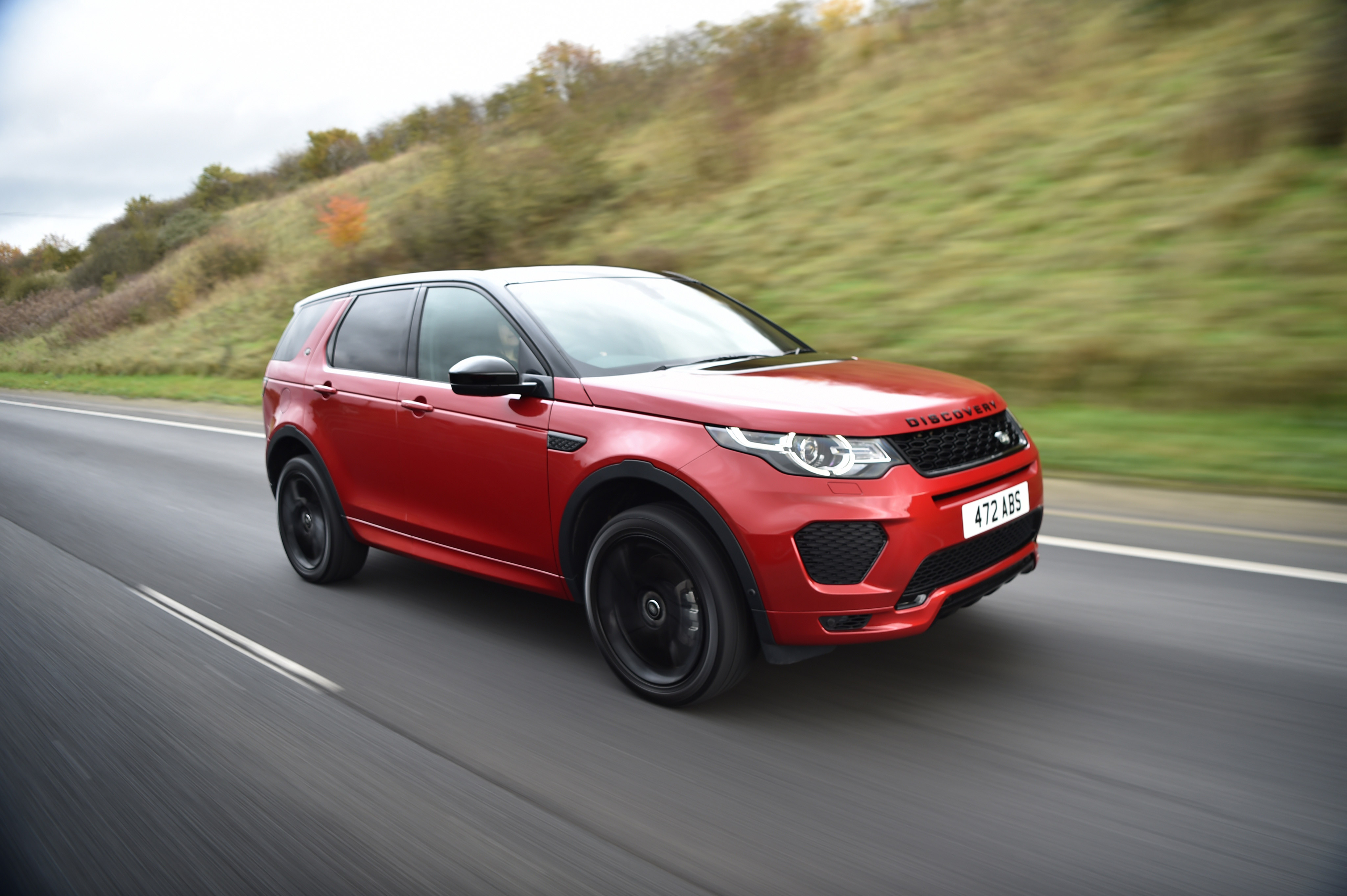 100 Land Rover Discovery Sport Red 2016
