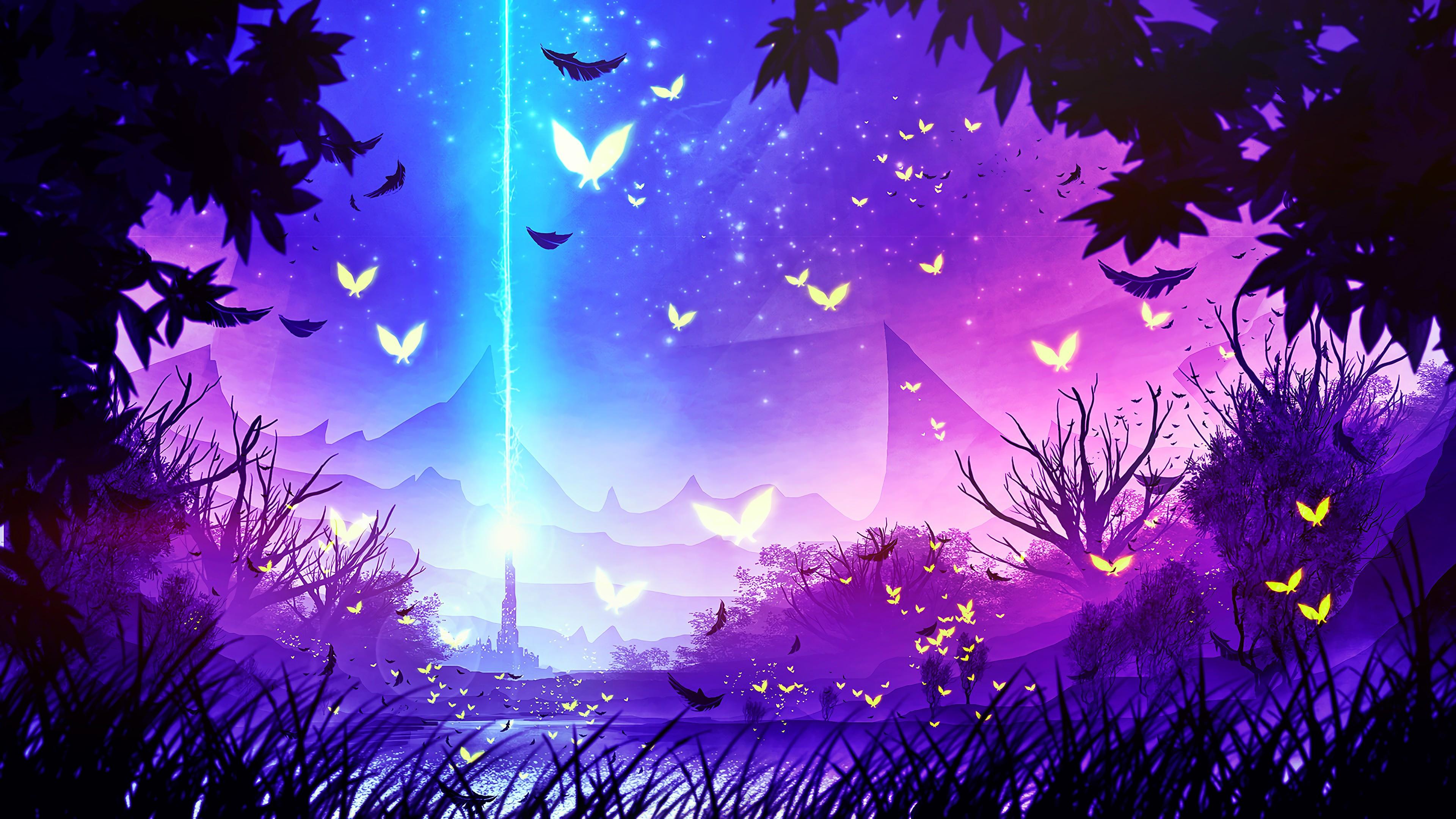 Landscape Forest Fantasy Art 4k Hd Artist 4k Wallpapers
