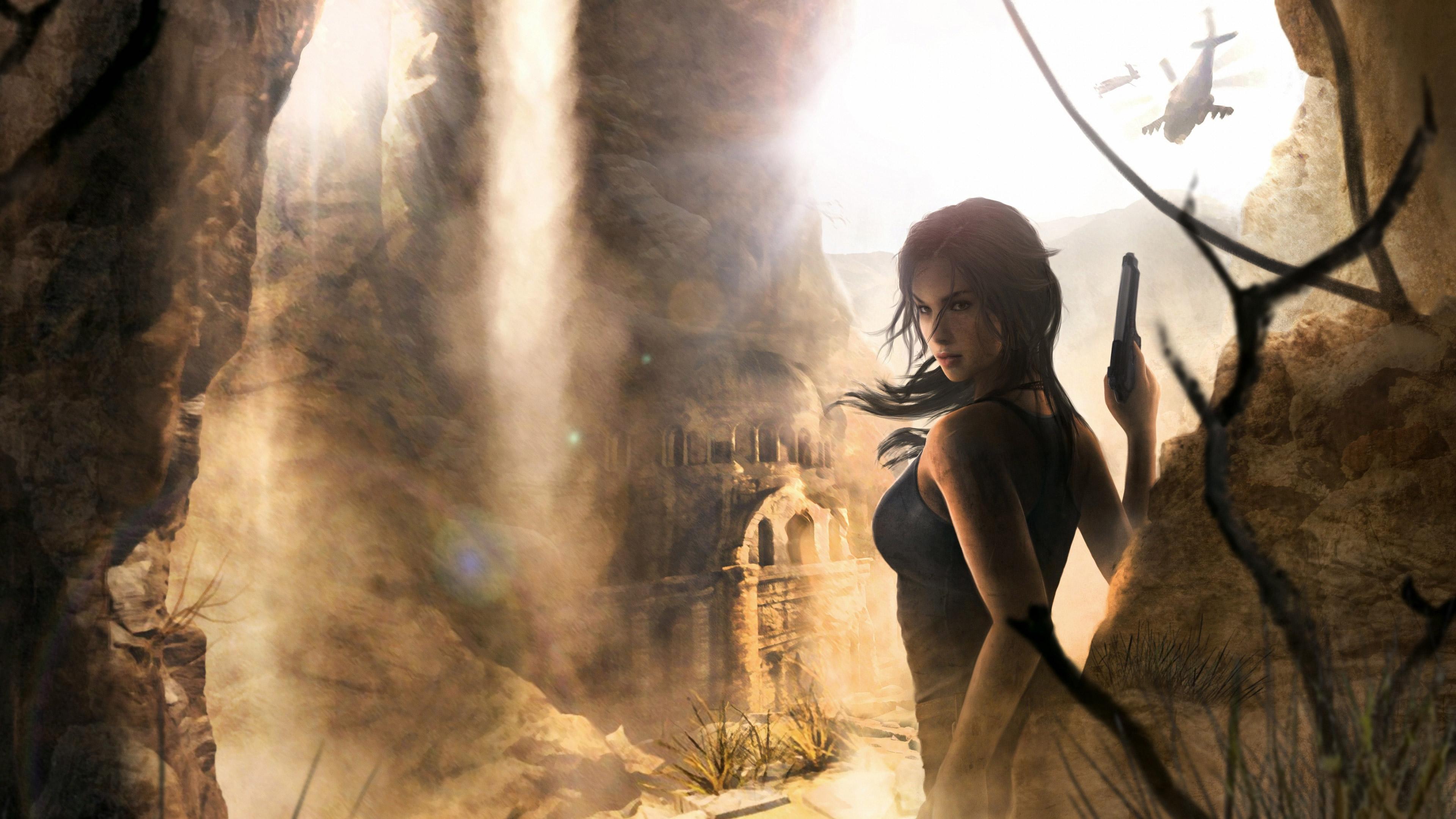 3840x2160 Lara Croft Tomb Raider Artwork 4k Hd 4k: Lara Croft 4k, HD Games, 4k Wallpapers, Images