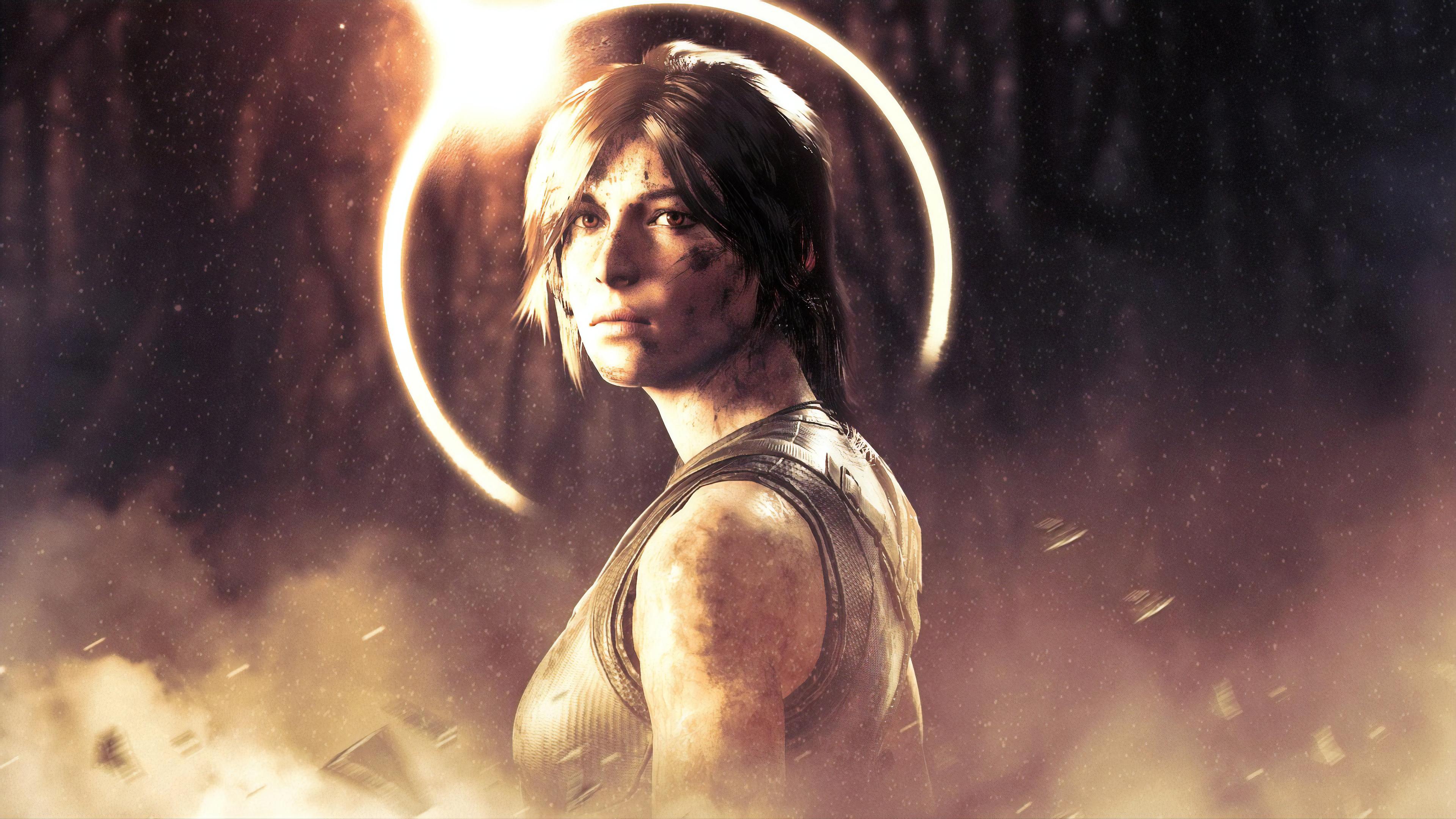 Lara Croft From Shadow Of The Tomb Raider, HD Games, 4k