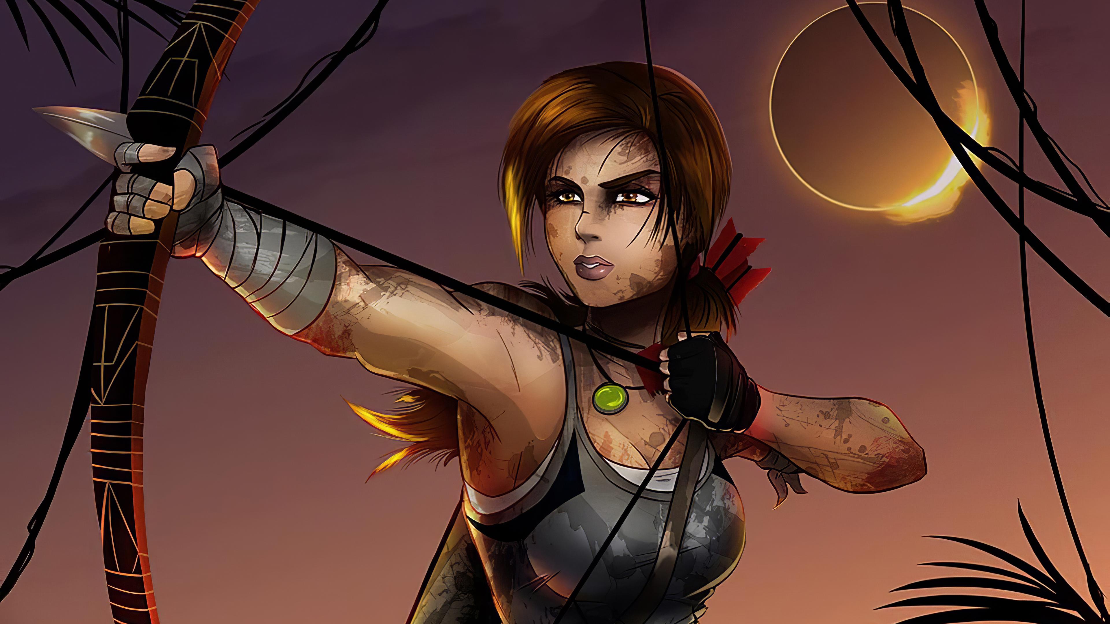 Lara Croft Shadow Of The Tomb Raider Artwork 4k Hd Games