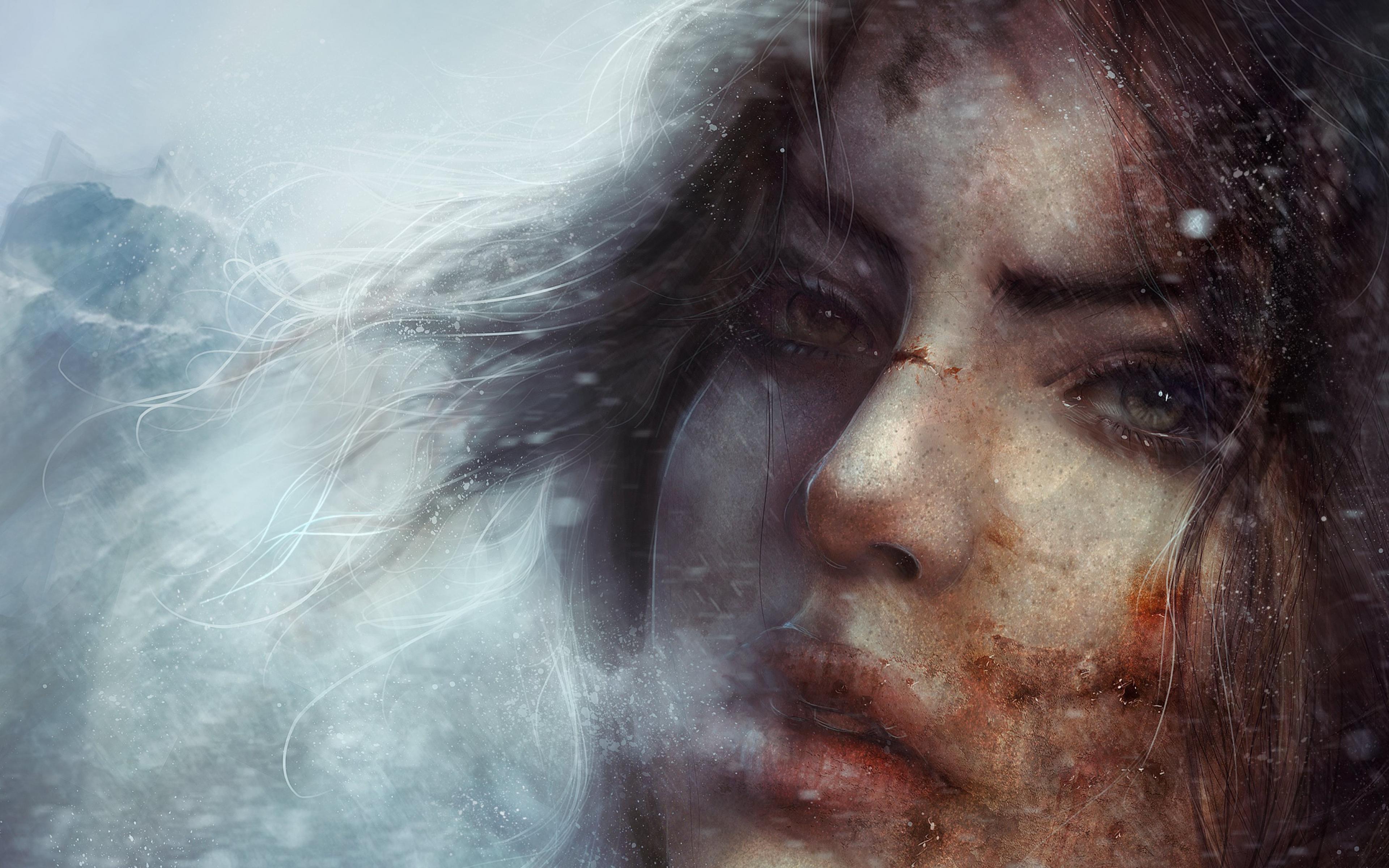 7680x4320 Lara Croft 8k Artwork 8k Hd 4k Wallpapers: Lara Croft Tomb Raider 2, HD Games, 4k Wallpapers, Images