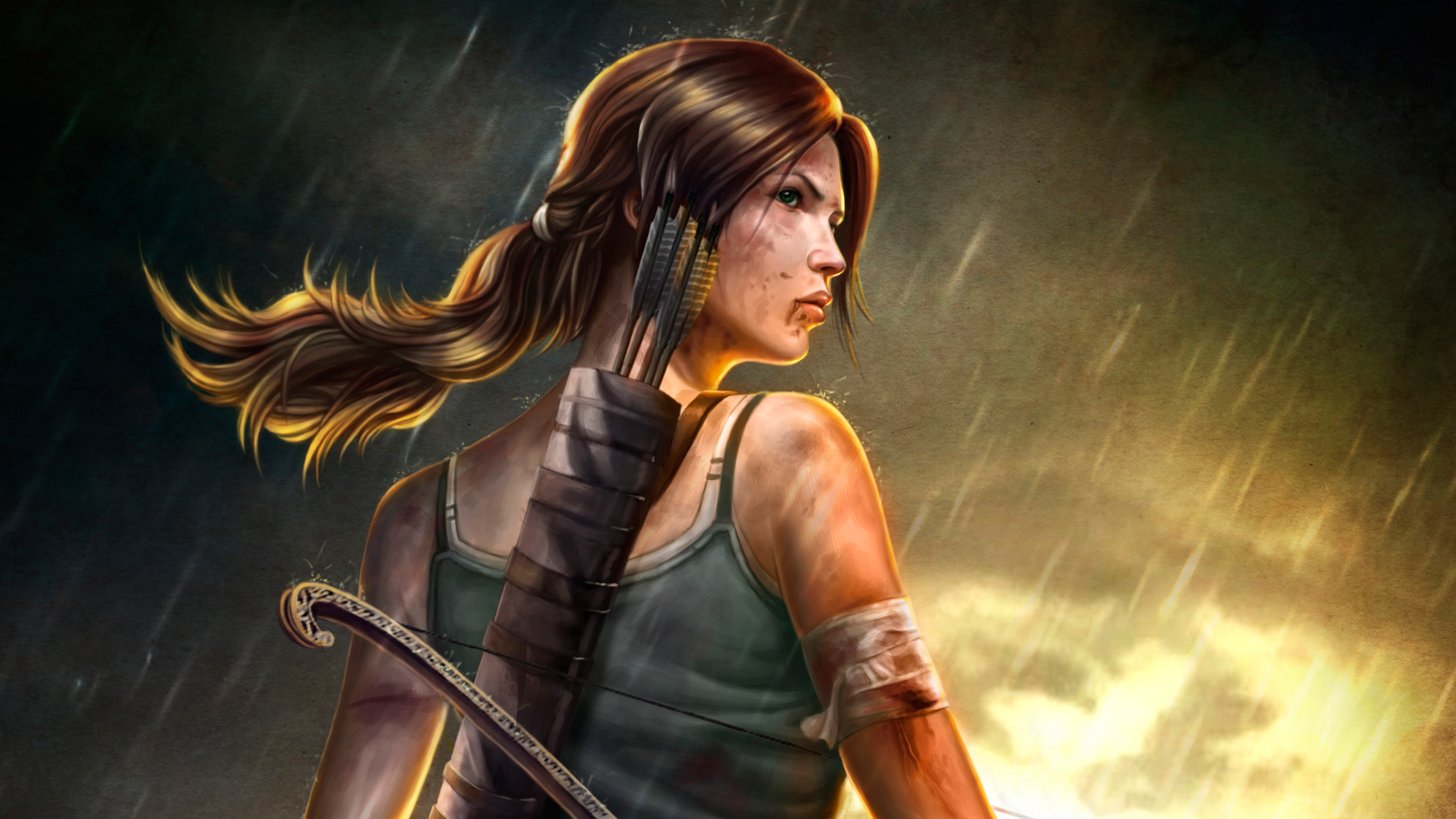 2932x2932 Pubg Android Game 4k Ipad Pro Retina Display Hd: Lara Croft Tomb Raider 4k Artwork, HD Games, 4k Wallpapers