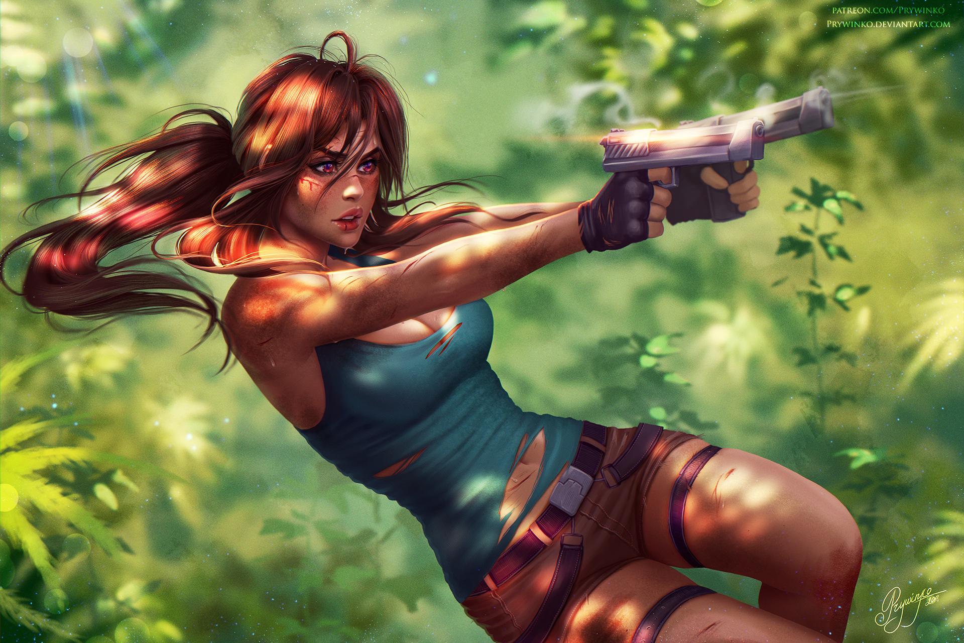 3840x2160 Lara Croft Tomb Raider Artwork 4k Hd 4k: Lara Croft Tomb Raider Fanart, HD Games, 4k Wallpapers