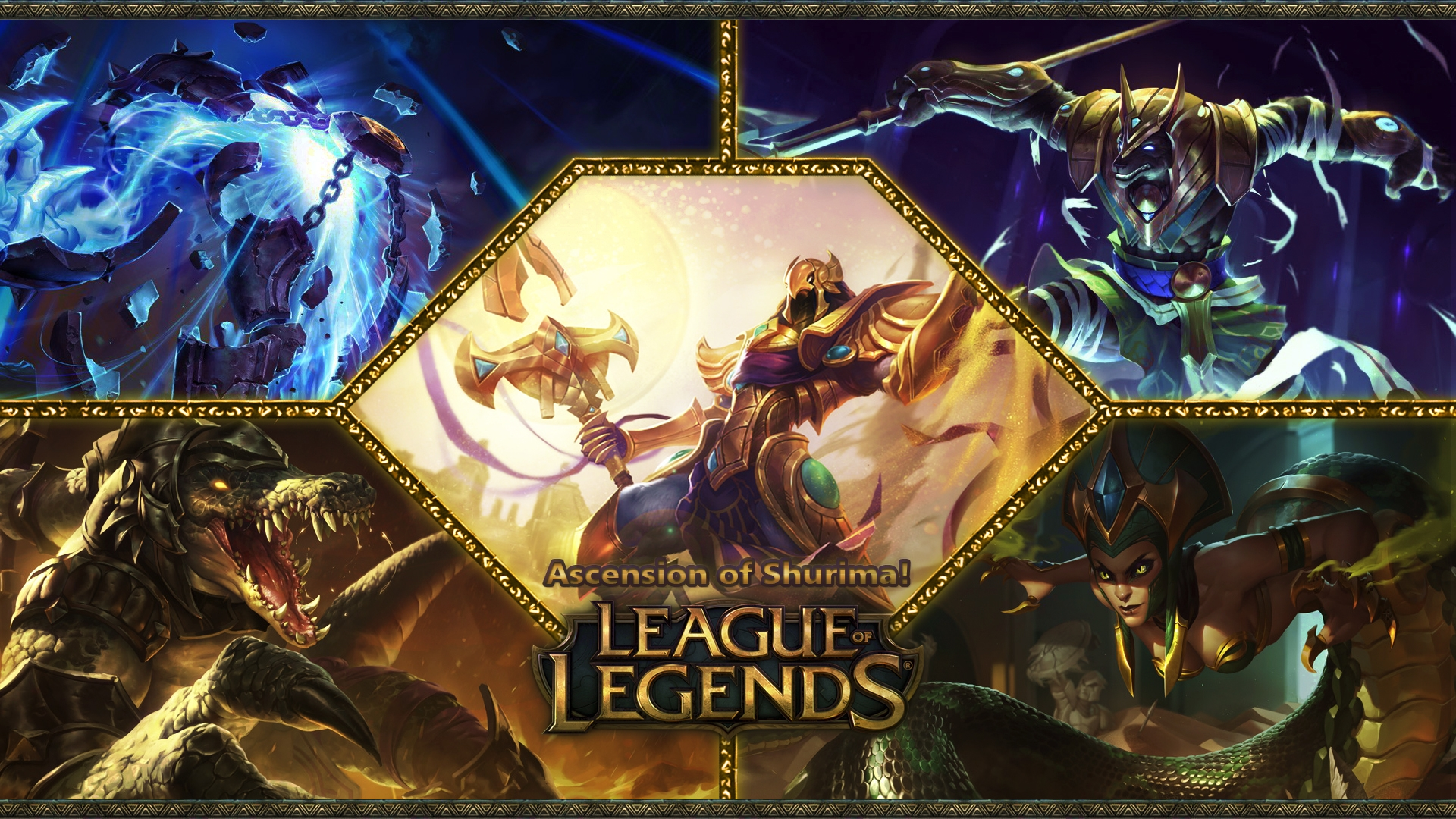 League Of Legends Game Poster