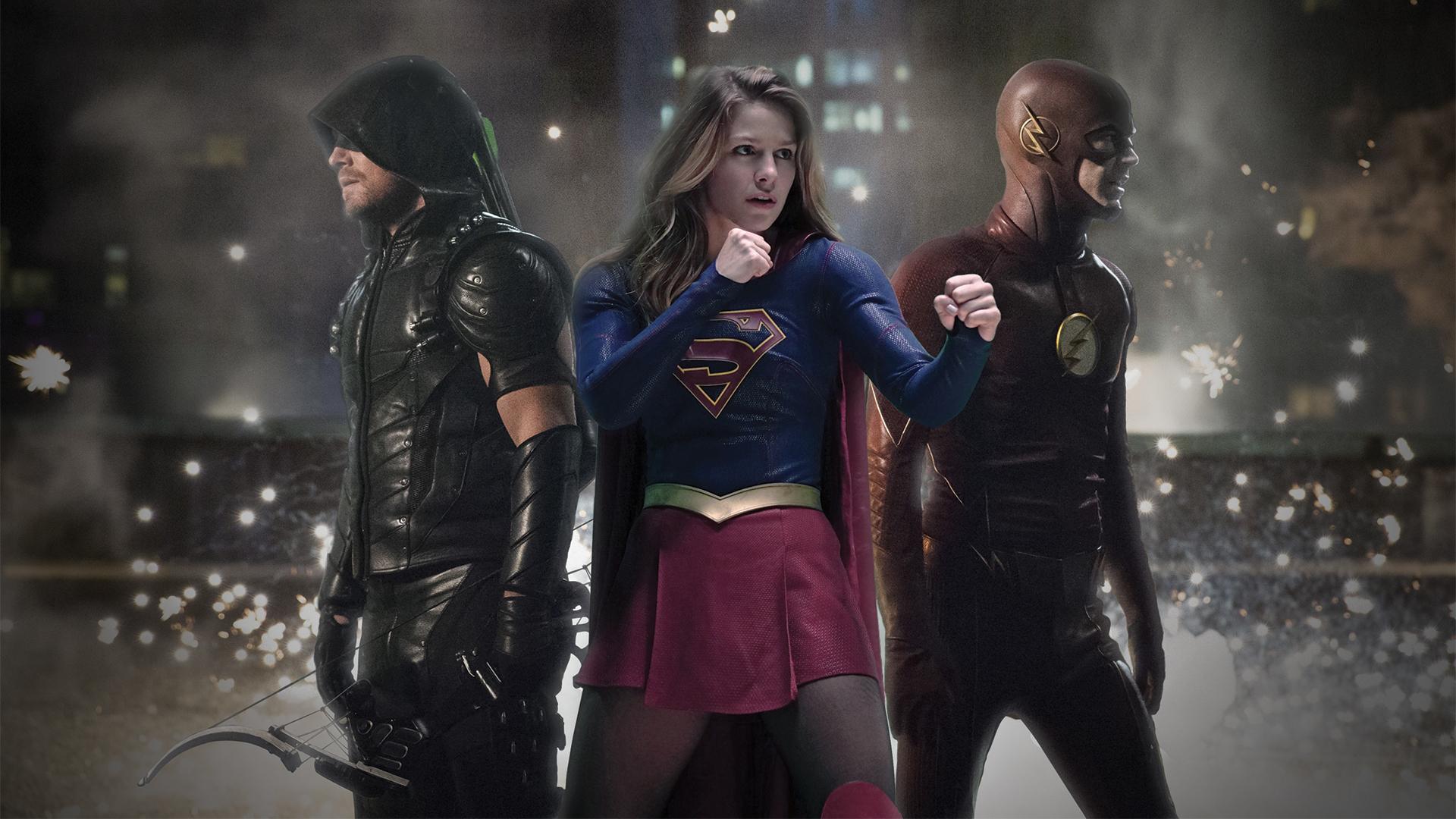 Legends Of Tomorrow Flash Arrow Supergirl