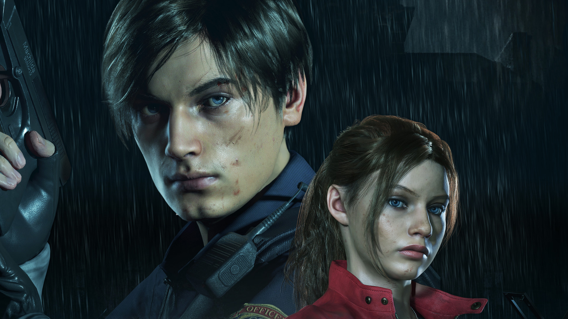 Pubg Resident Evil Wallpaper: Leon And Claire In Resident Evil 2, HD Games, 4k