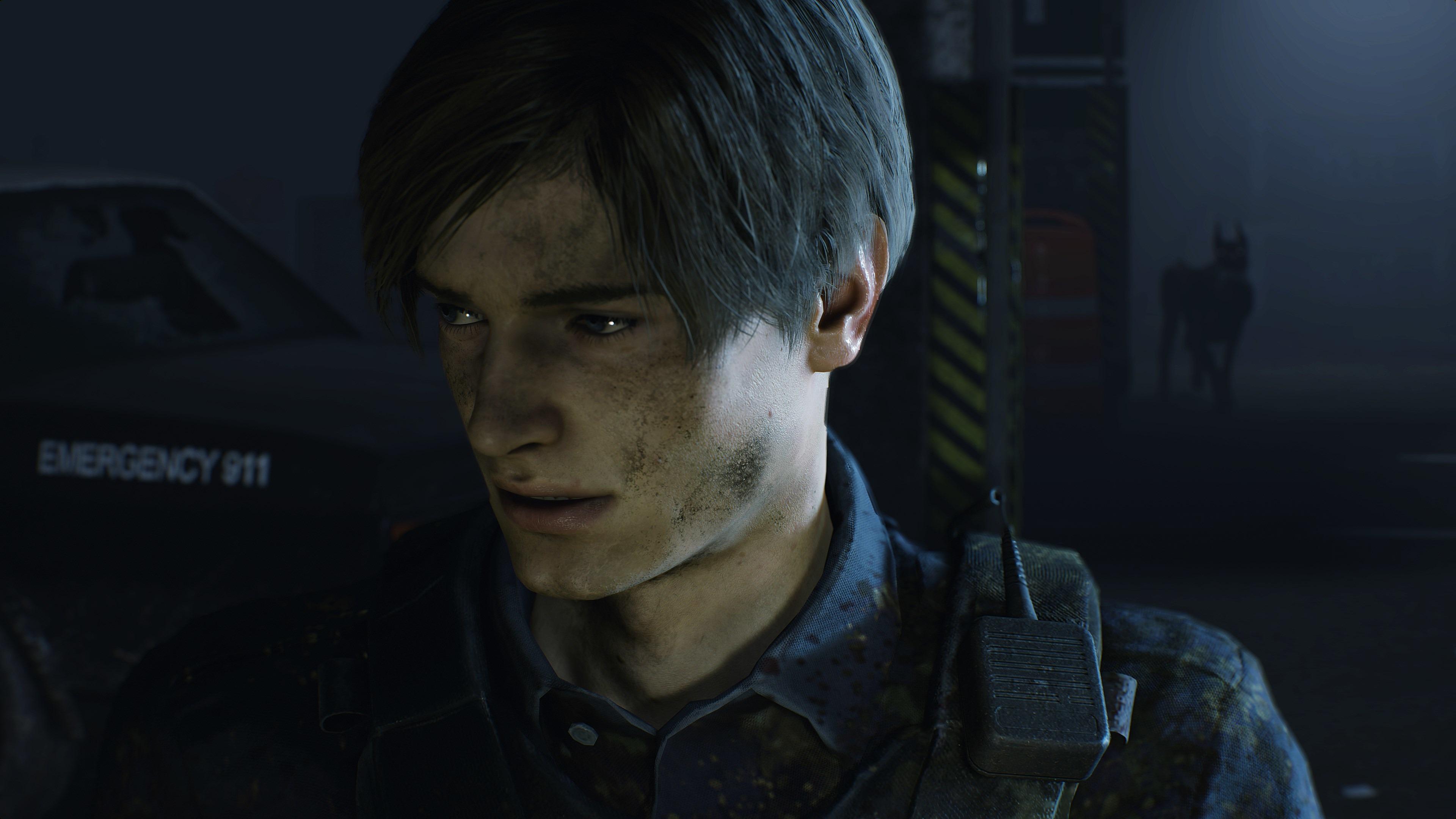 Leon Kennedy Resident Evil 2 2019 4k, HD Games, 4k