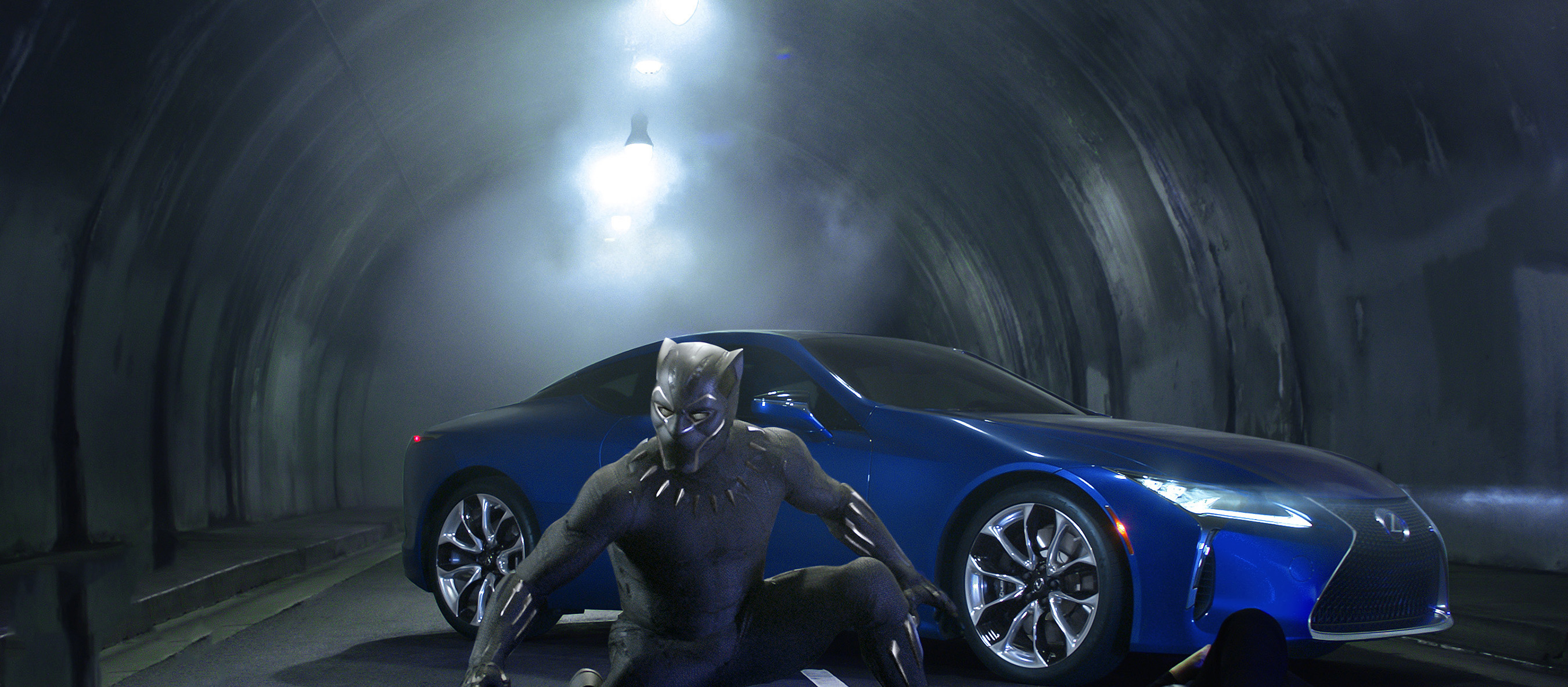 Black Panther 2018 Movie Still Full Hd Wallpaper: Lexus Black Panther LC 500 2018 Movie, HD Movies, 4k
