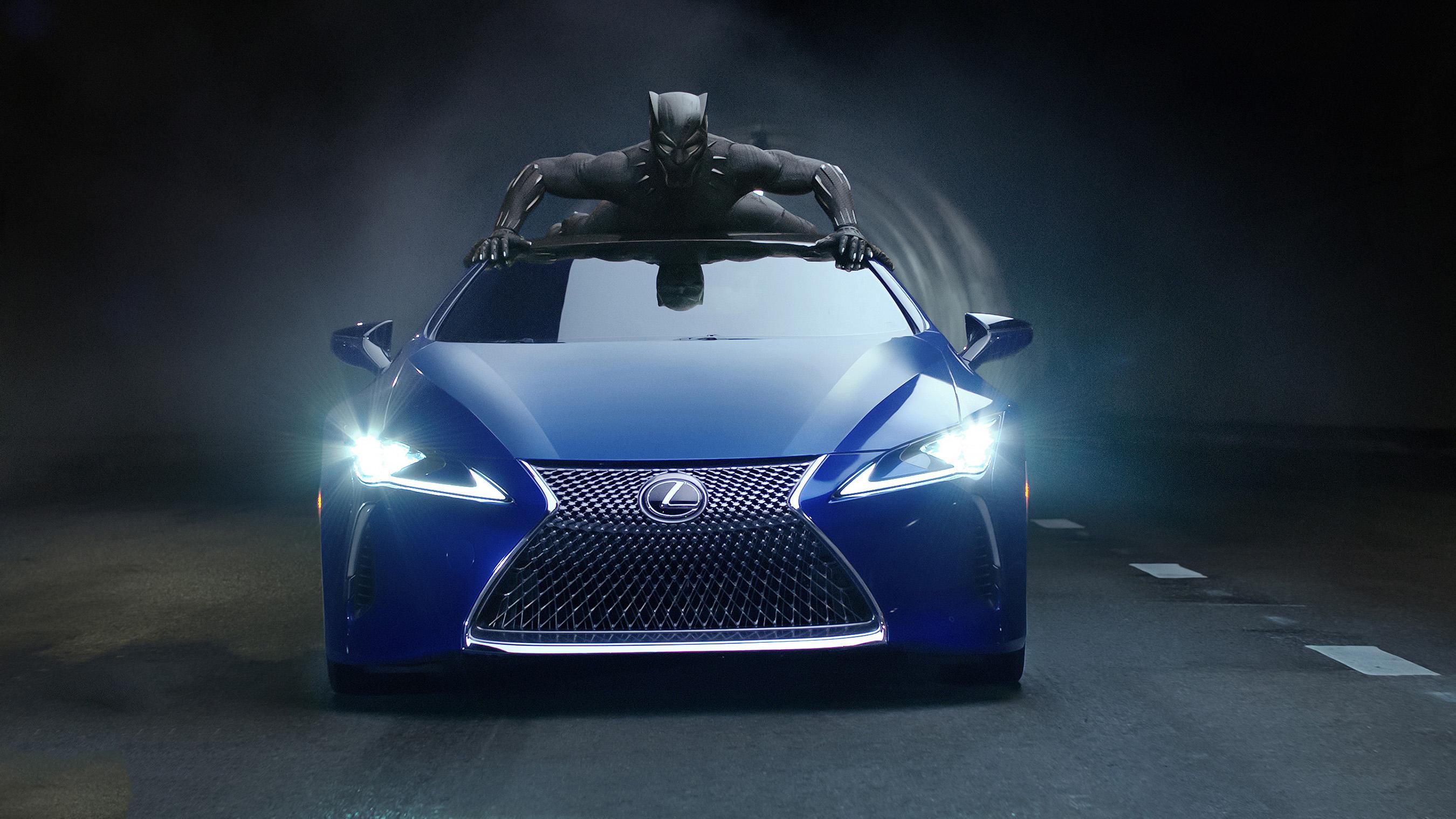 Lexus Black Panther LC 500 2018, HD Cars, 4k Wallpapers ...