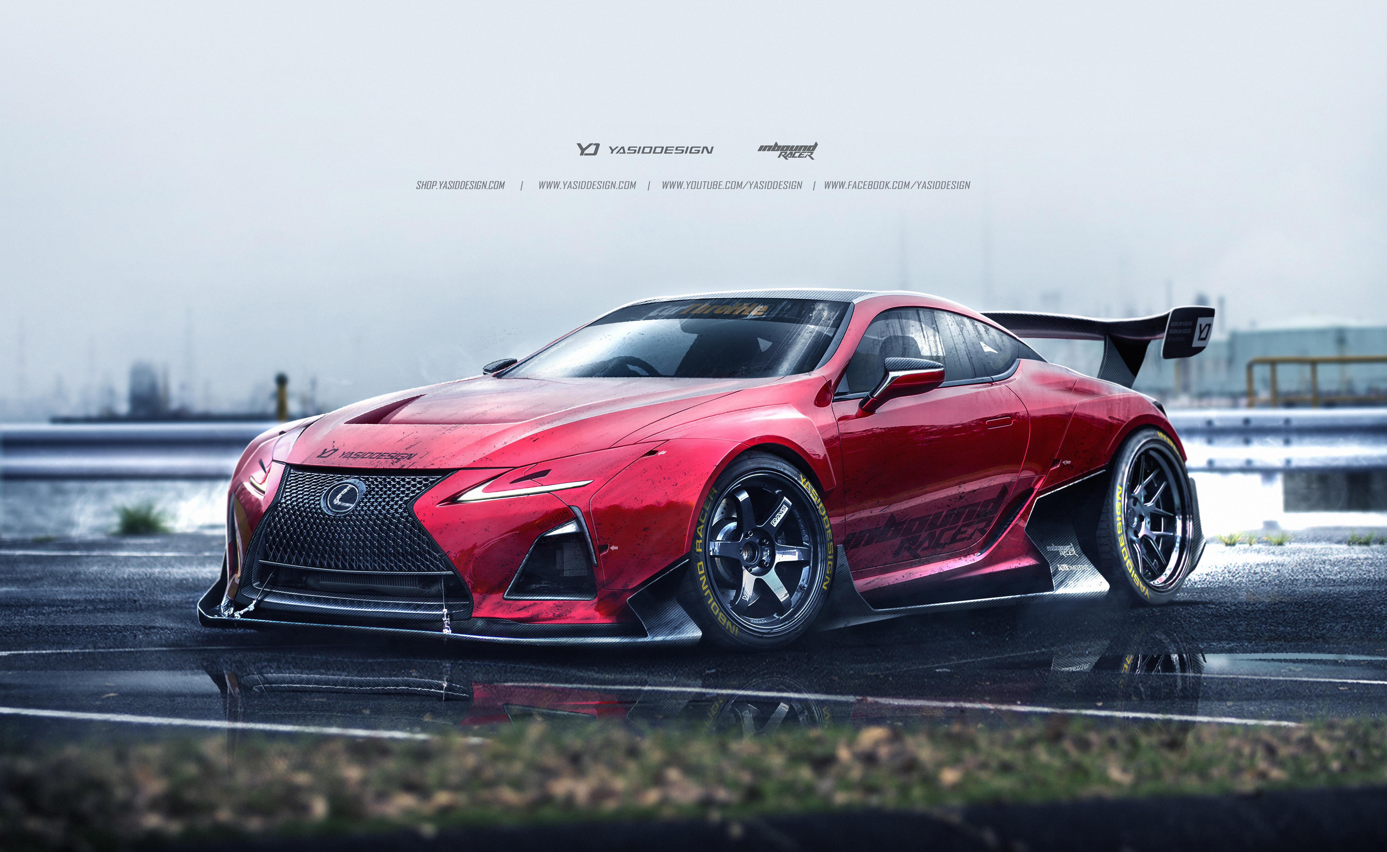 Lexus Lc500 Fan Design Hd Cars 4k Wallpapers Images Backgrounds