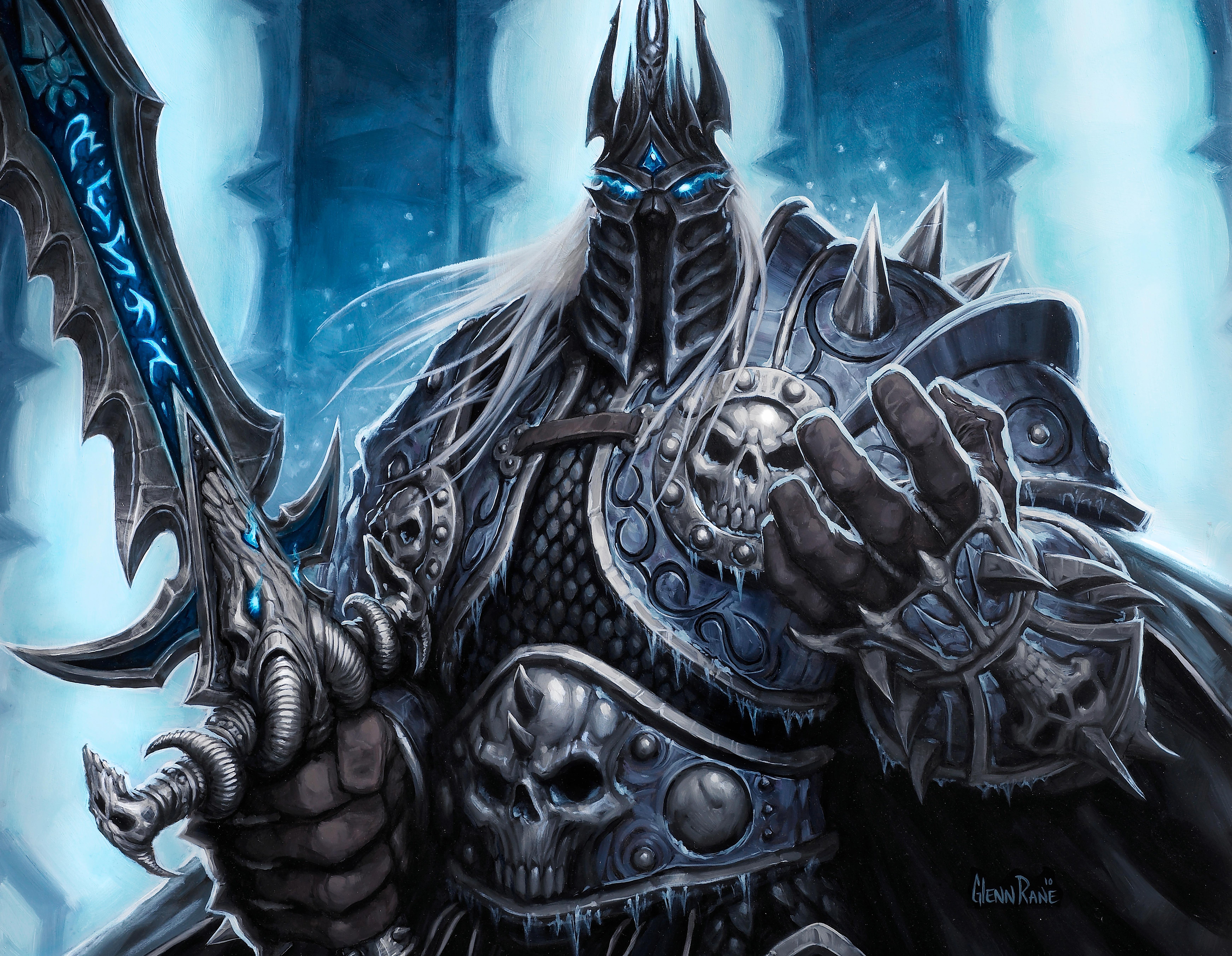 World Of Warcraft The Dark Portal Uhd 4k Wallpaper: Lich King World Of Warcraft 4k 5k, HD Games, 4k Wallpapers