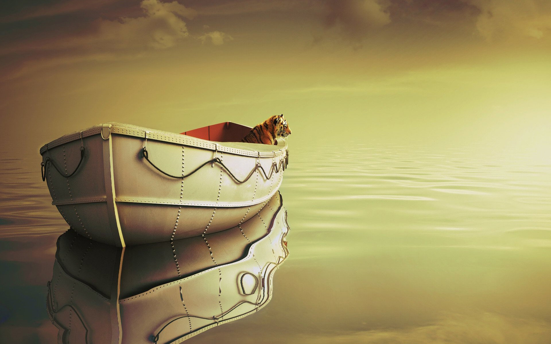 Life Of Pi Boat, HD Movies, 4k Wallpapers, Images