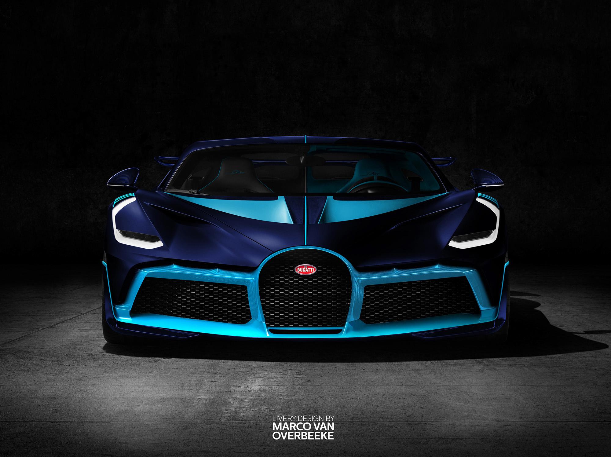 Light And Dark Blue Bugatti Divo, HD Cars, 4k Wallpapers ...