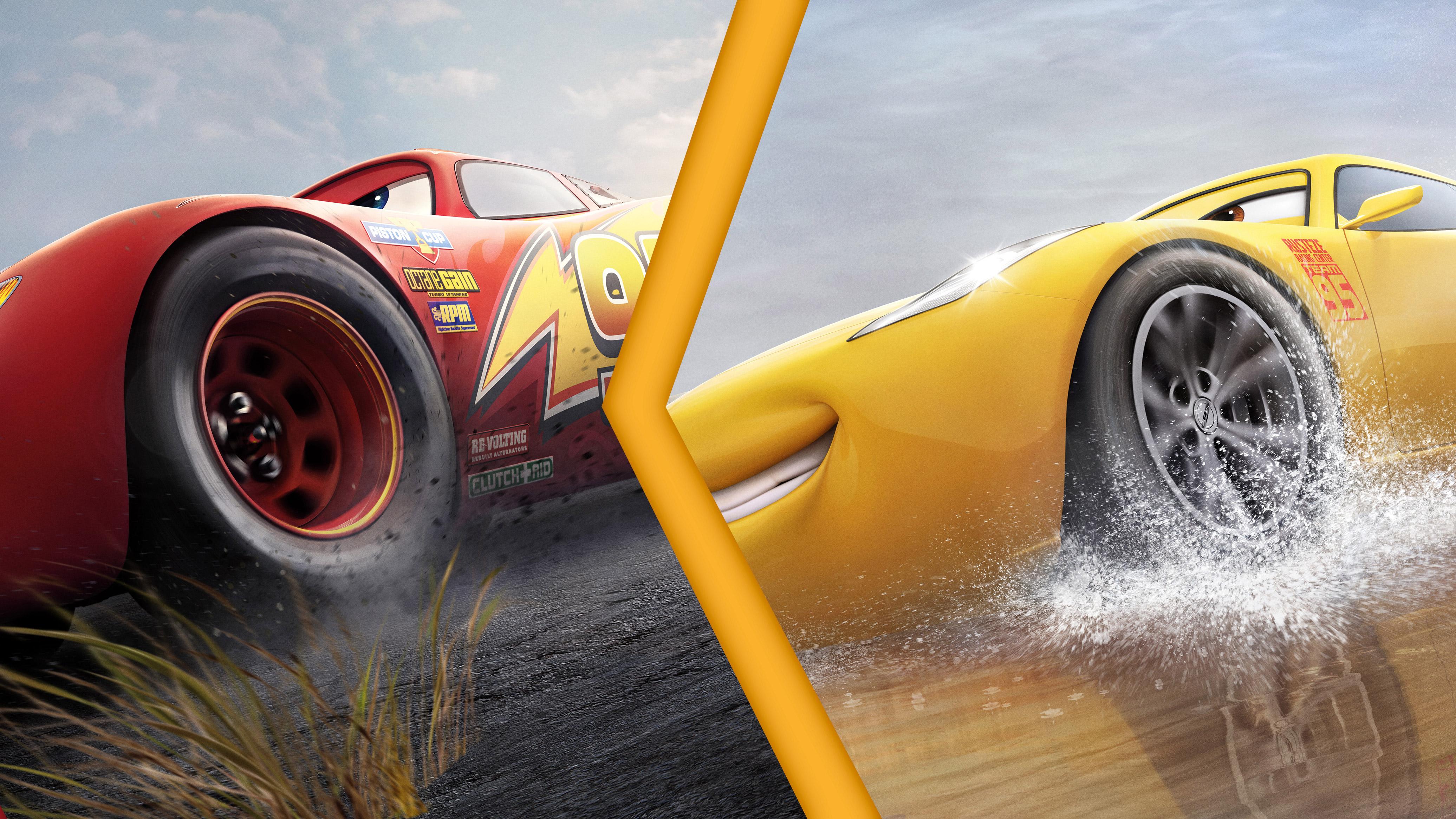 Lightning Mcqueen Vs Cruz Ramirez Cars 3 4k Hd Movies 4k