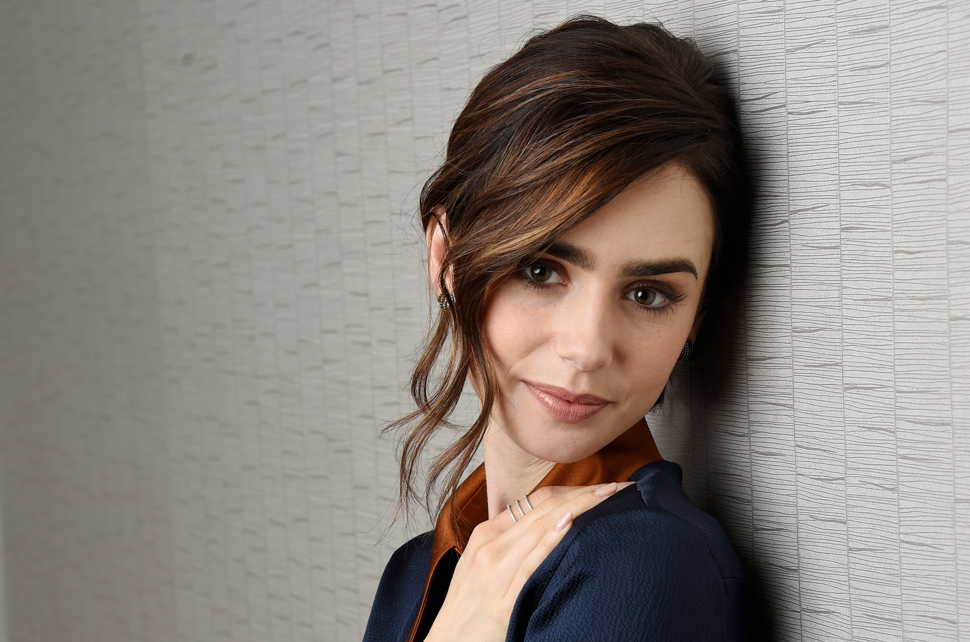 Lily collins cute 2017 4k hd celebrities 4k wallpapers images backgrounds photos and pictures - Celebrity background ...