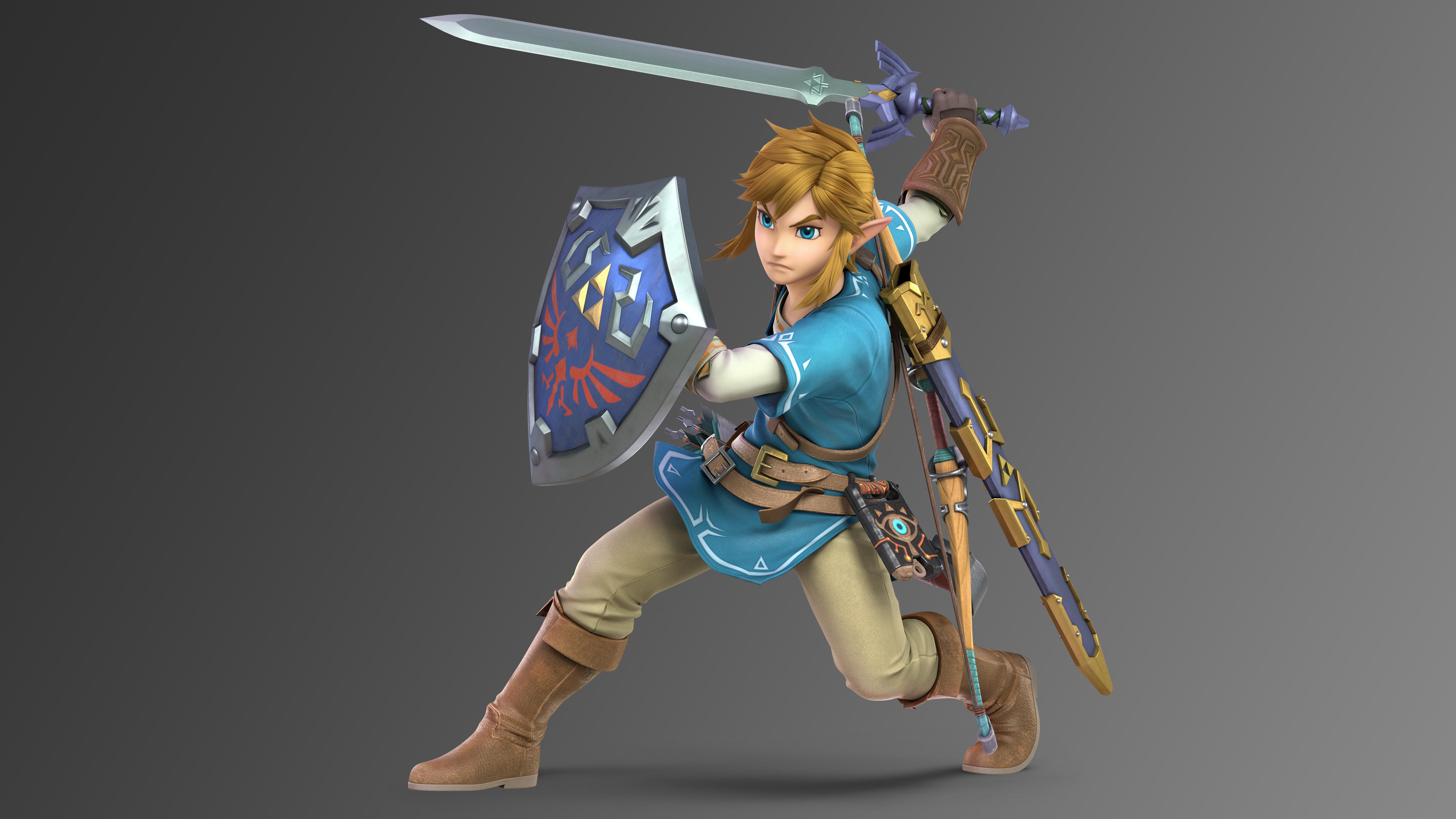 Link Super Smash Bros Ultimate 5k Hd Games 4k Wallpapers Images