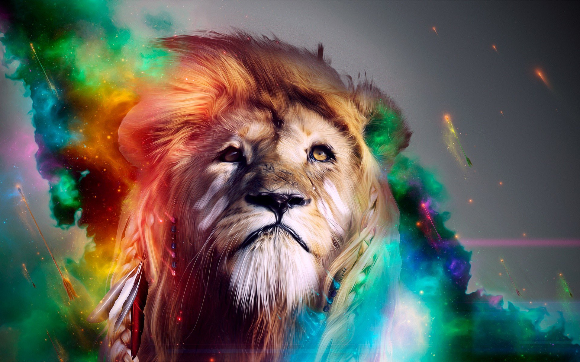 Lion abstract 4k hd abstract 4k wallpapers images - Lion 4k wallpaper for mobile ...