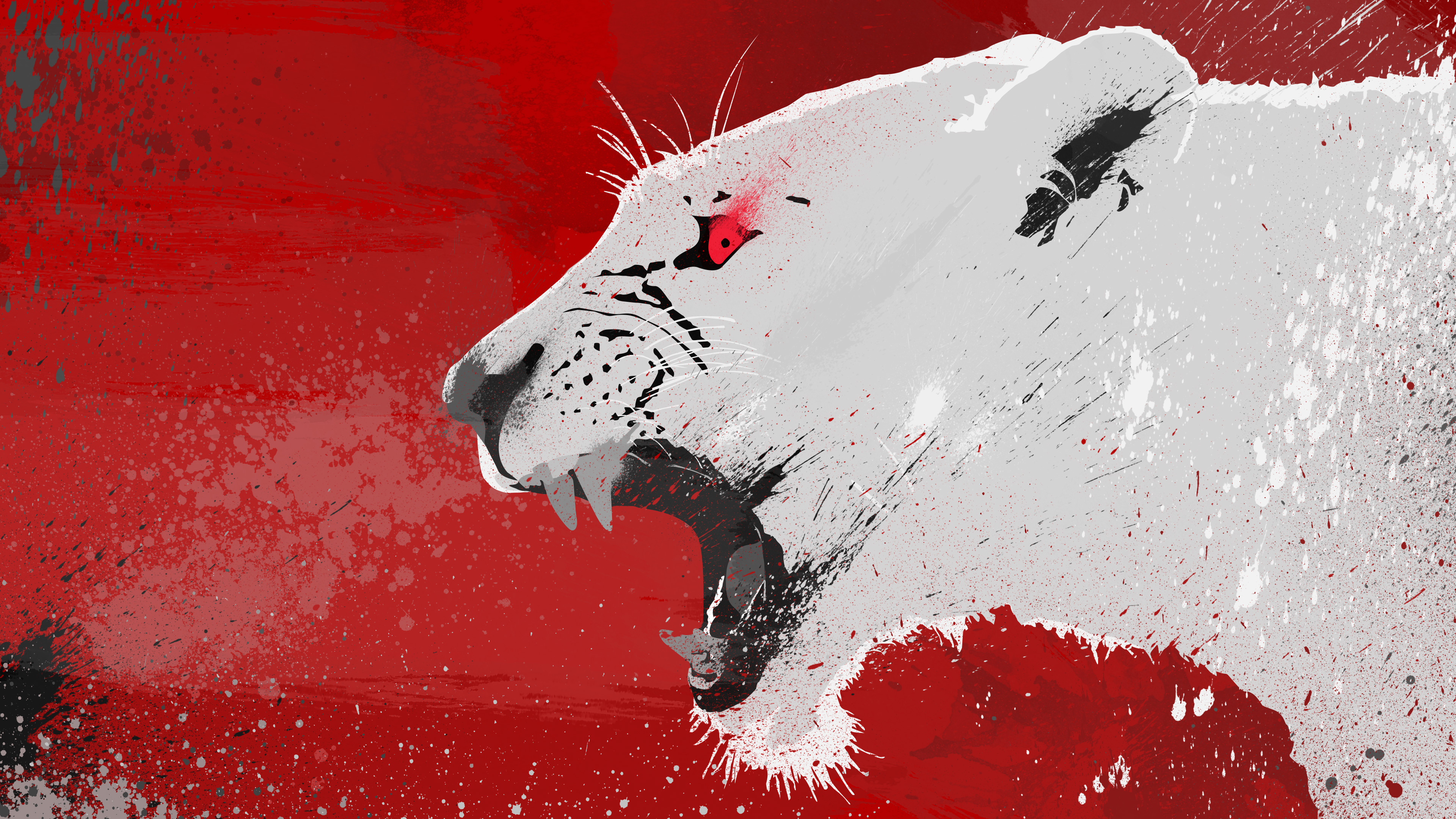 Lion Vector 4k, HD Abstract, 4k Wallpapers, Images, Backgrounds, Photos and Pictures