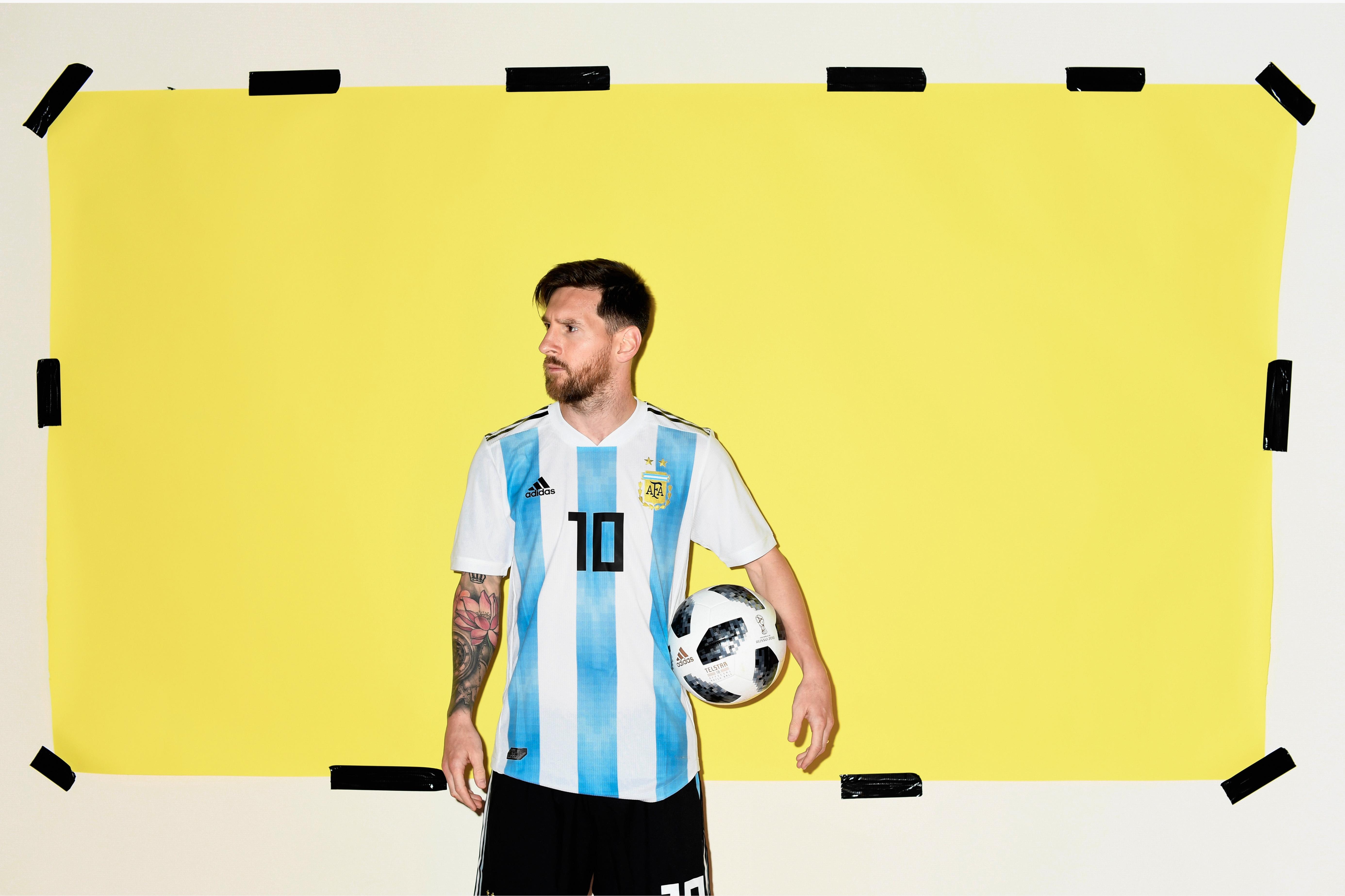 Lionel Messi Argentina Portrait 2018 Hd Sports 4k