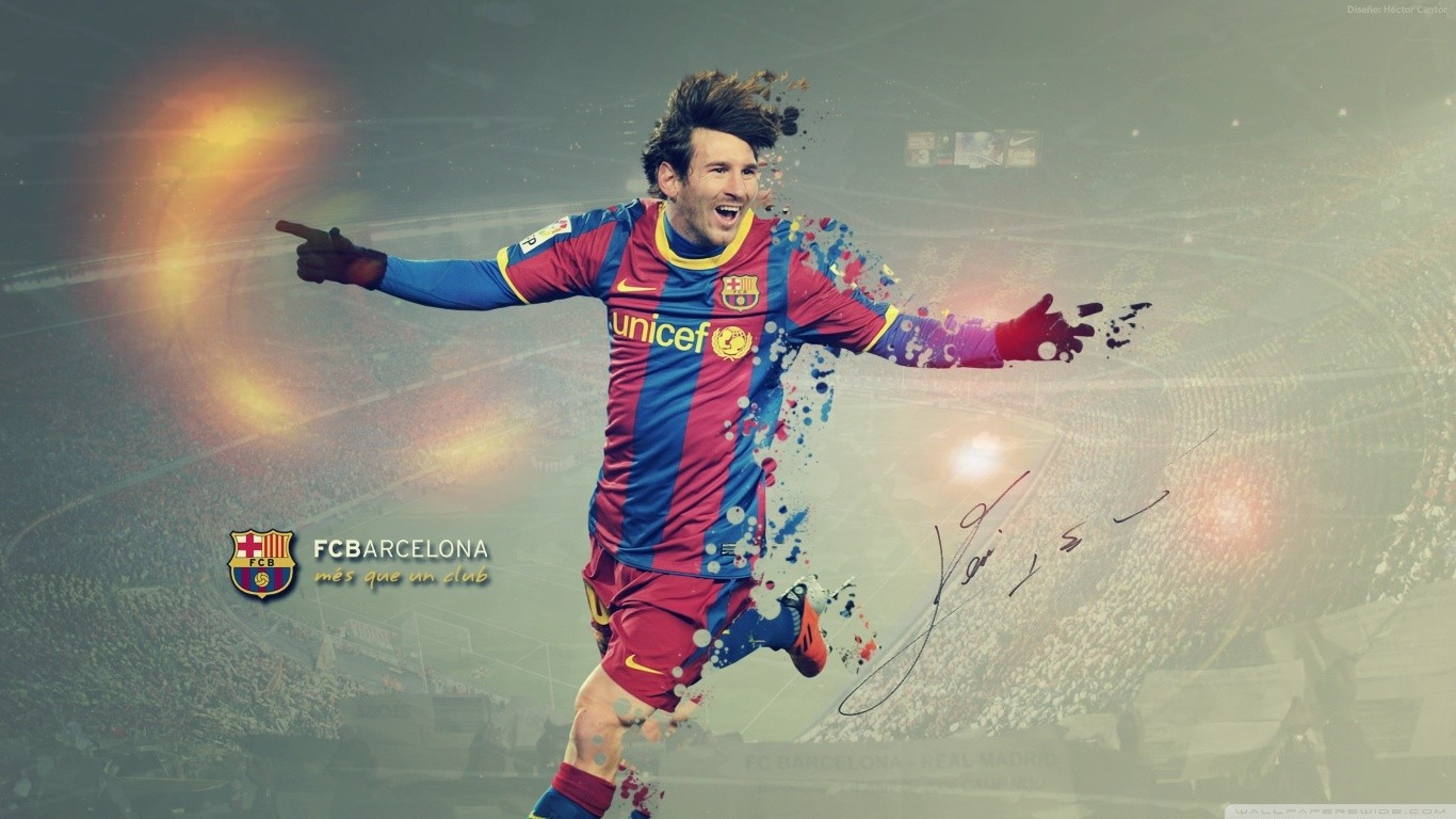 1366x768 Lionel Messi Fcb 1366x768 Resolution Hd 4k Wallpapers
