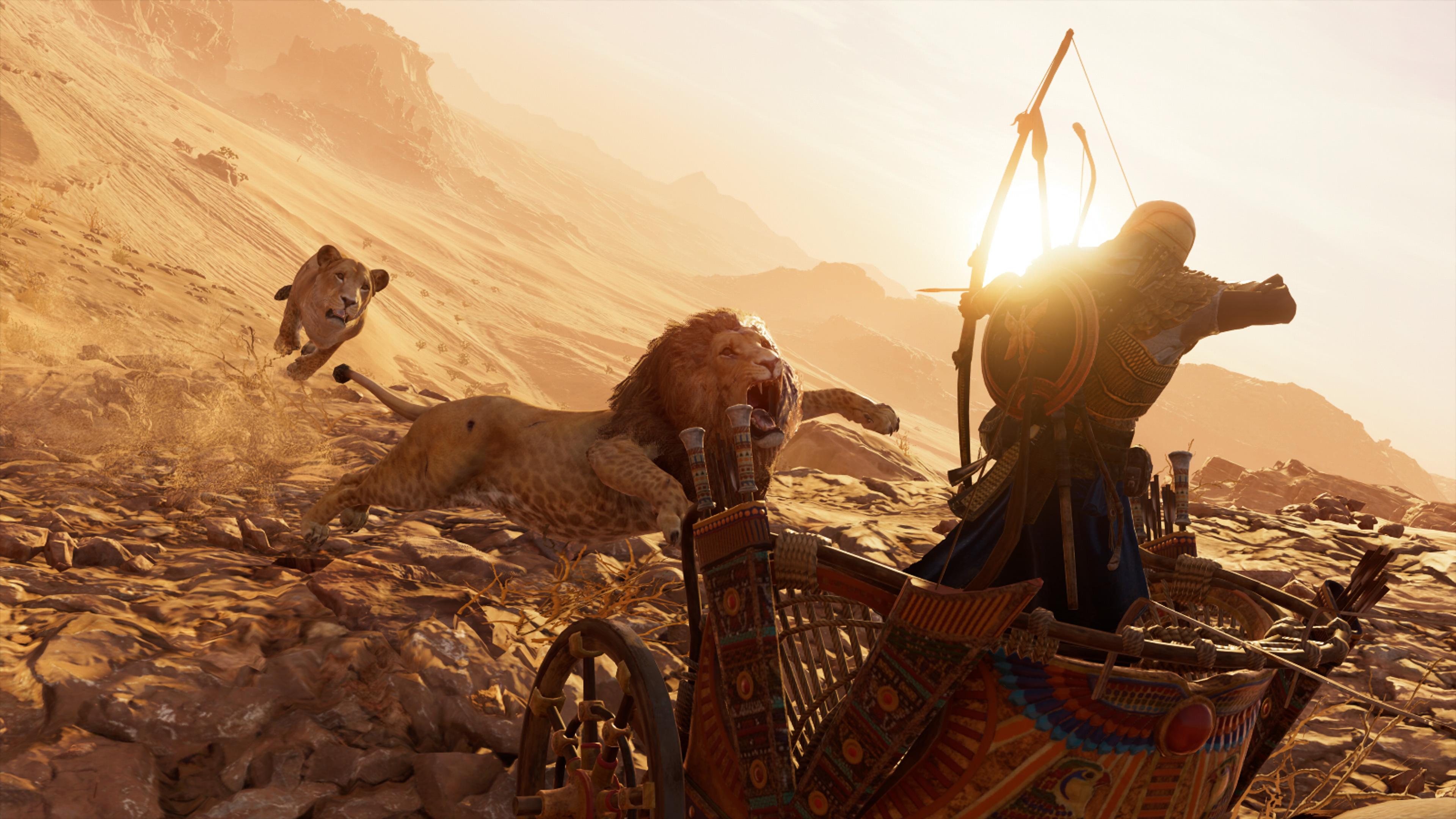 2018 Assassins Creed Origins 4k Hd Games 4k Wallpapers: Lions Assassins Creed Origins 4k, HD Games, 4k Wallpapers