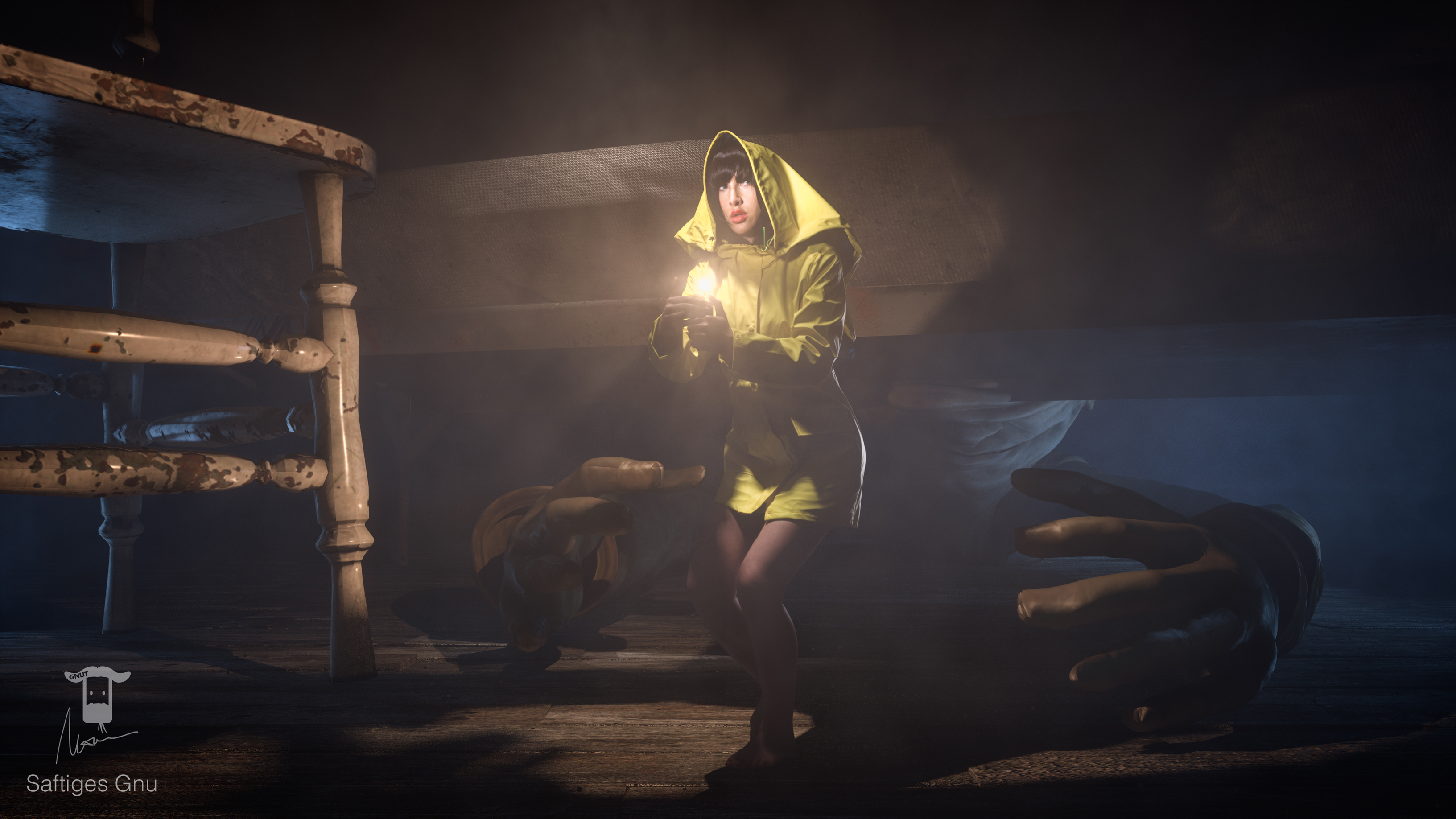 Little Nightmares Six Cosplay Hd Games 4k Wallpapers Images