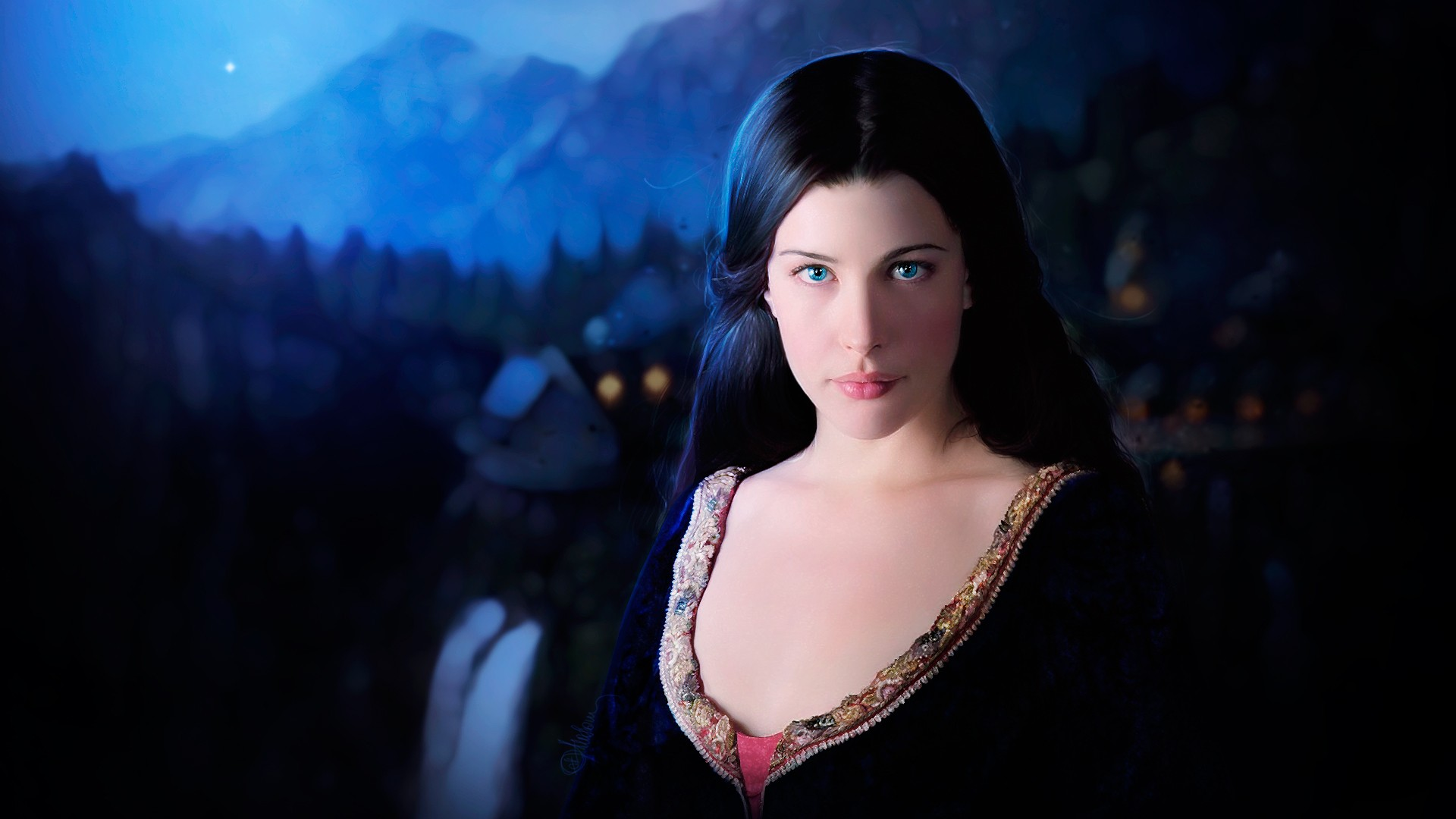 Liv Tyler In The Lord Of Rings