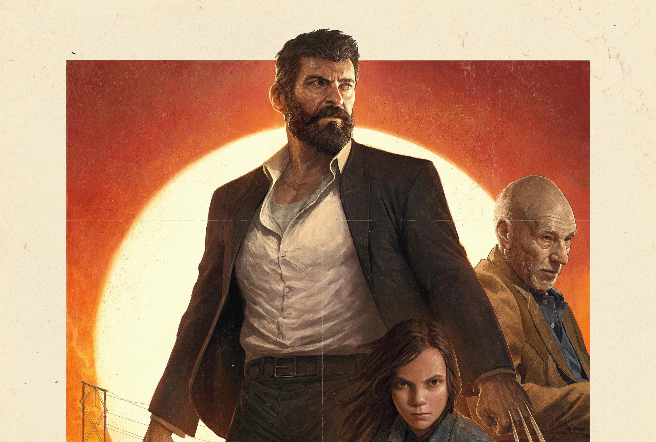 Logan Movie 4k