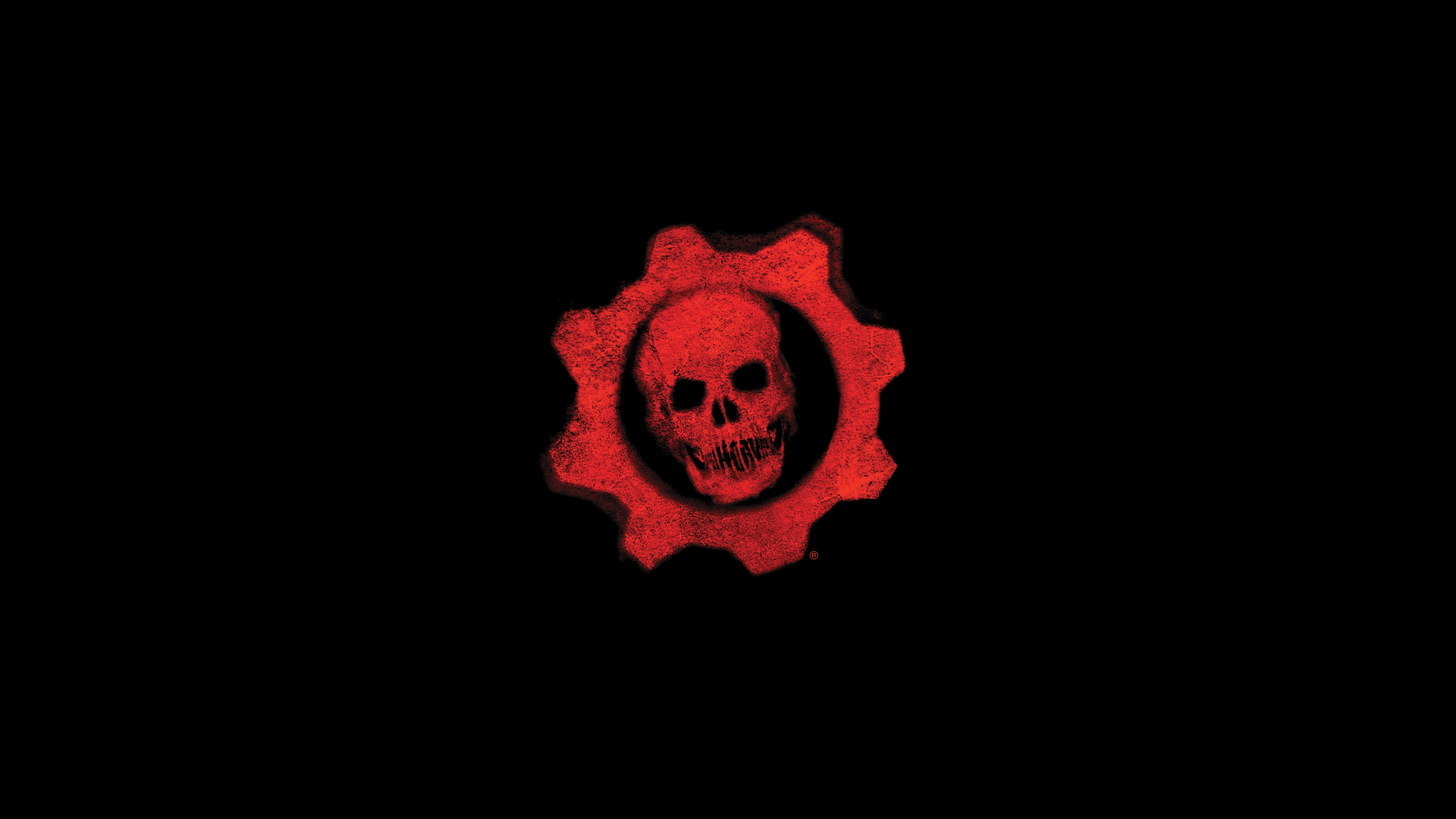 logo gears of war 4k, hd games, 4k wallpapers, images, backgrounds