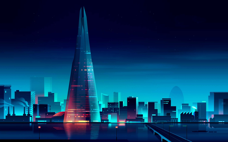 London City Minimalist, HD Artist, 4k Wallpapers, Images ...