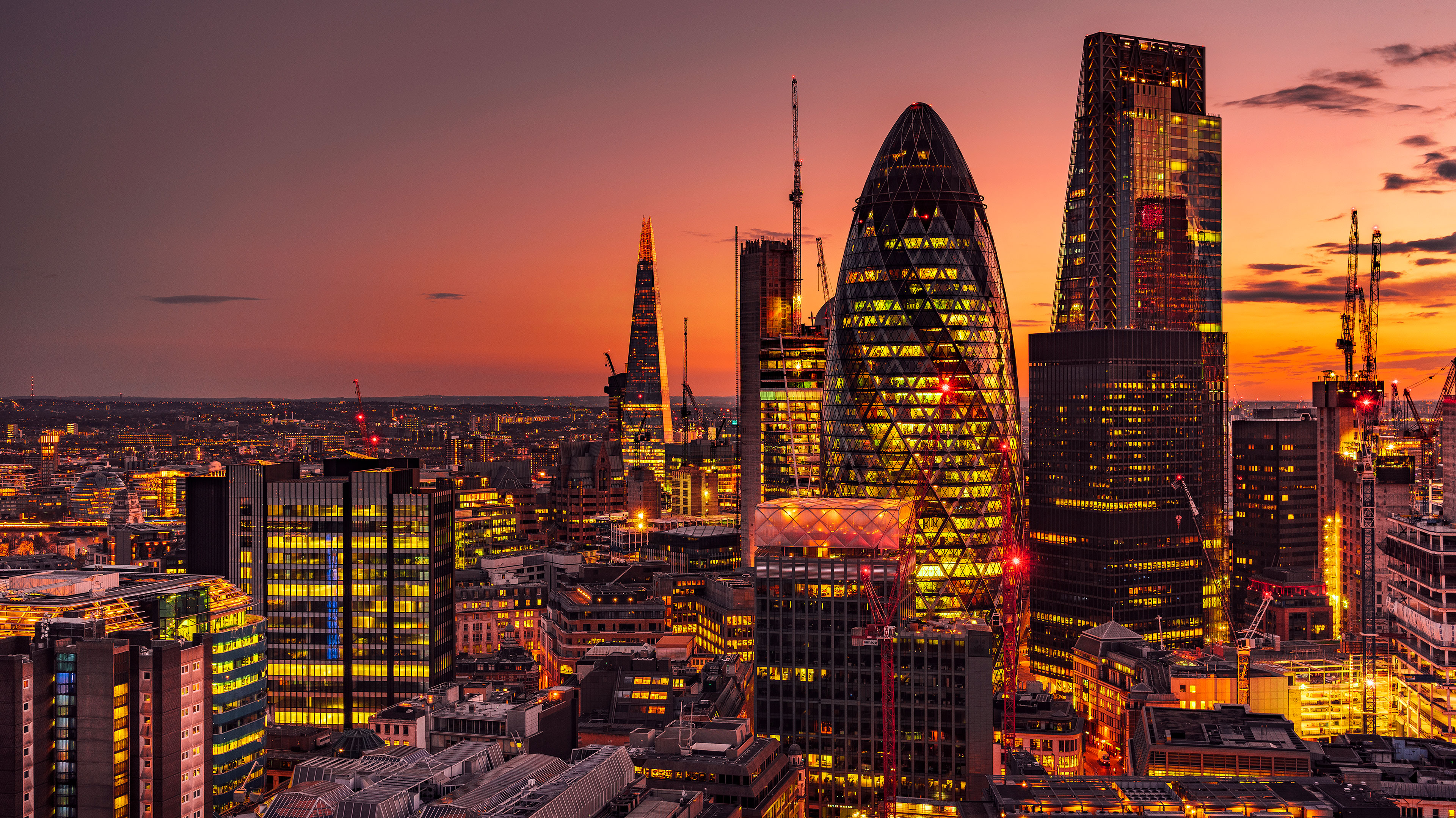 1366x768 London Lights 4k 1366x768 Resolution Hd 4k