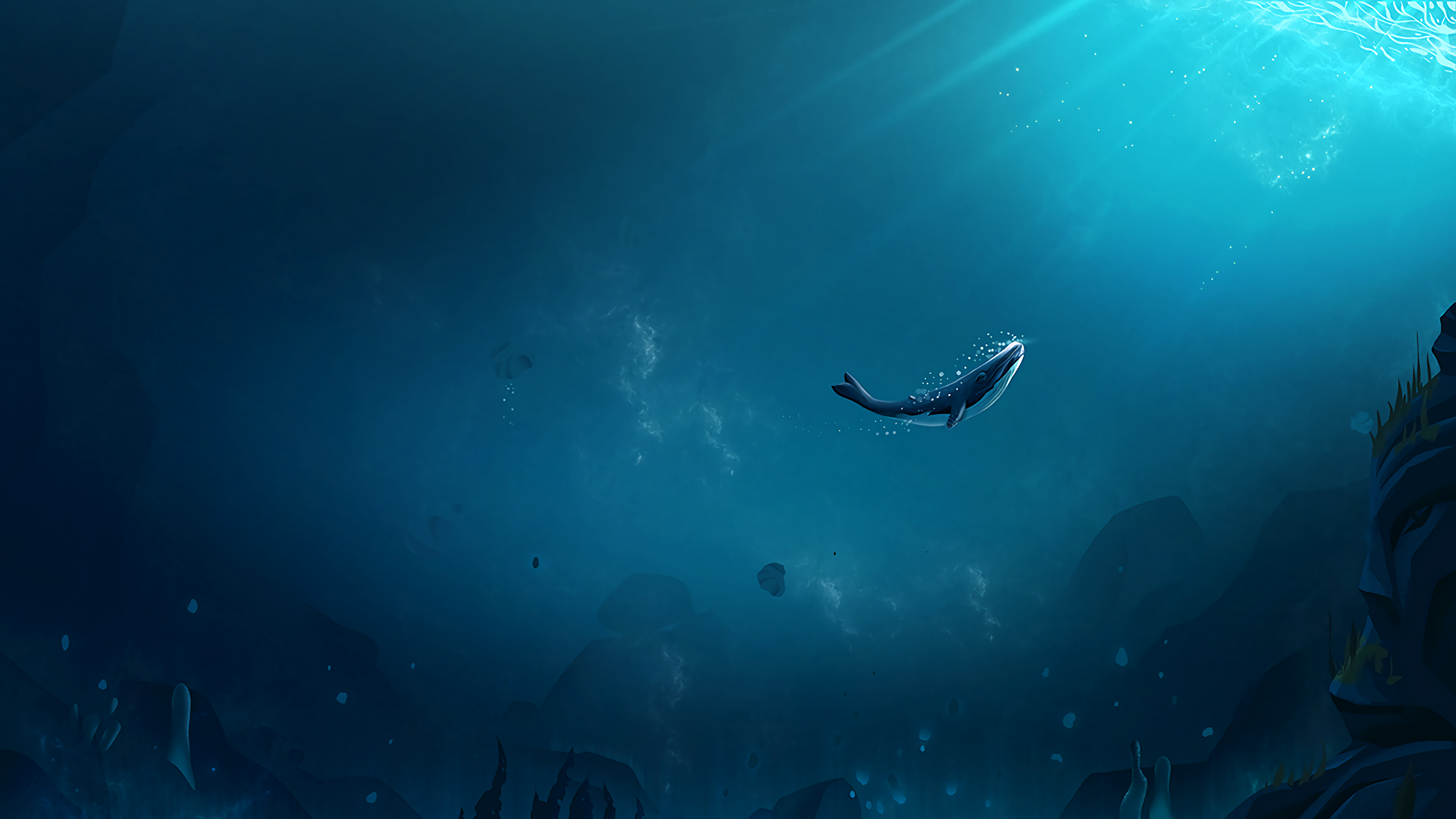 Lonely Whale Hd Artist 4k Wallpapers Images Backgrounds